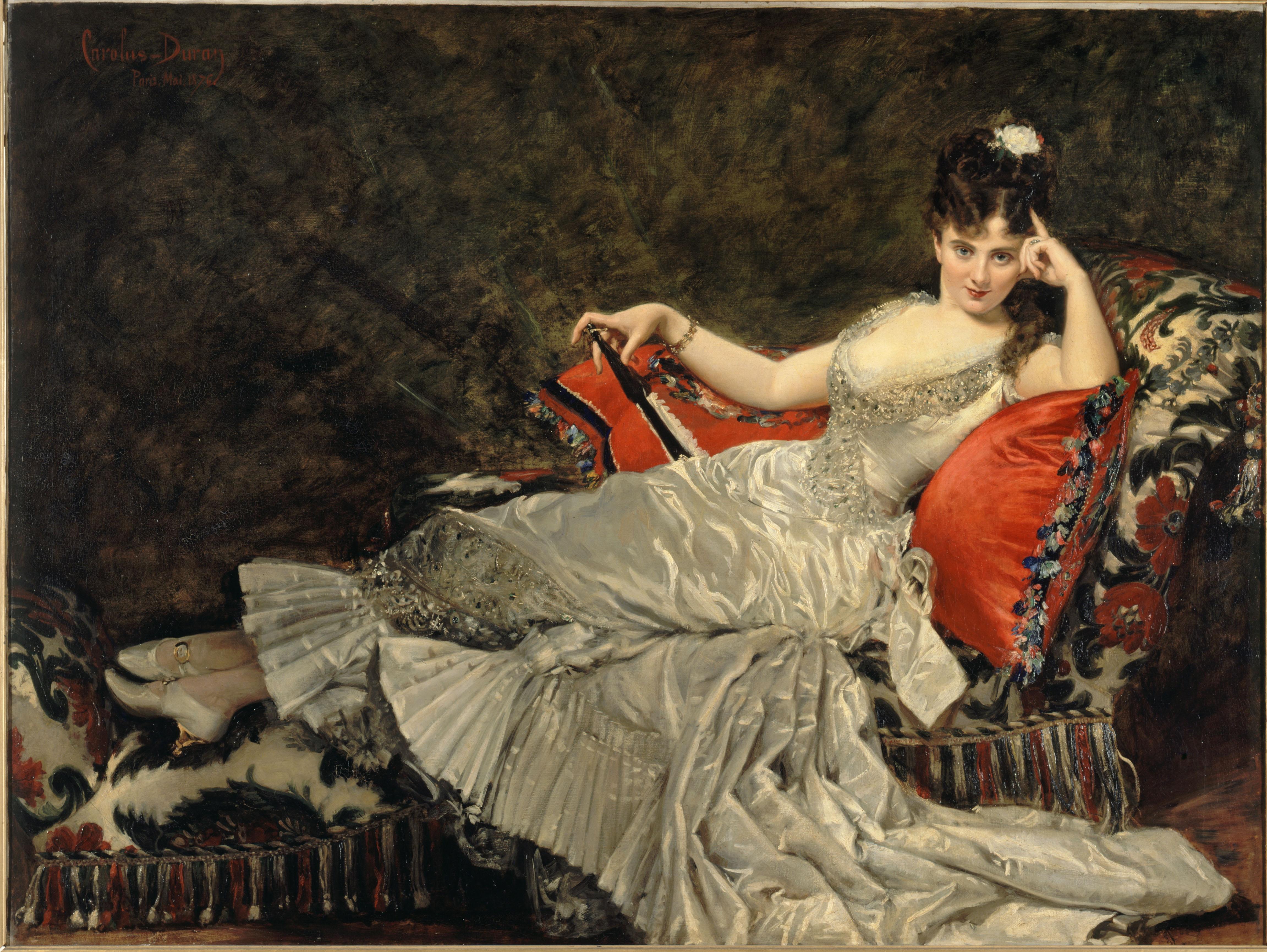Mademoiselle de Lancey de Carolus-Duran