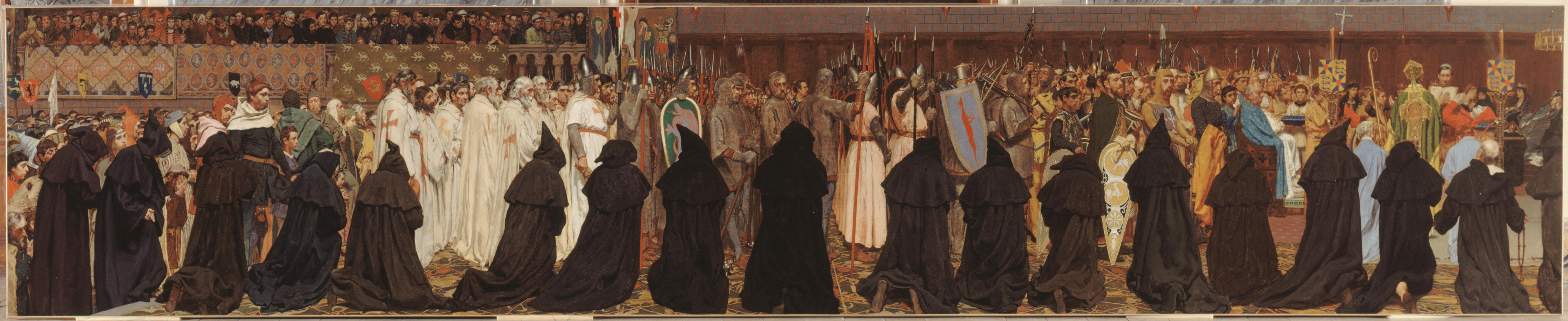 Les funérailles de Charles le Bon. Crédits : Petit Palais / Roger Viollet