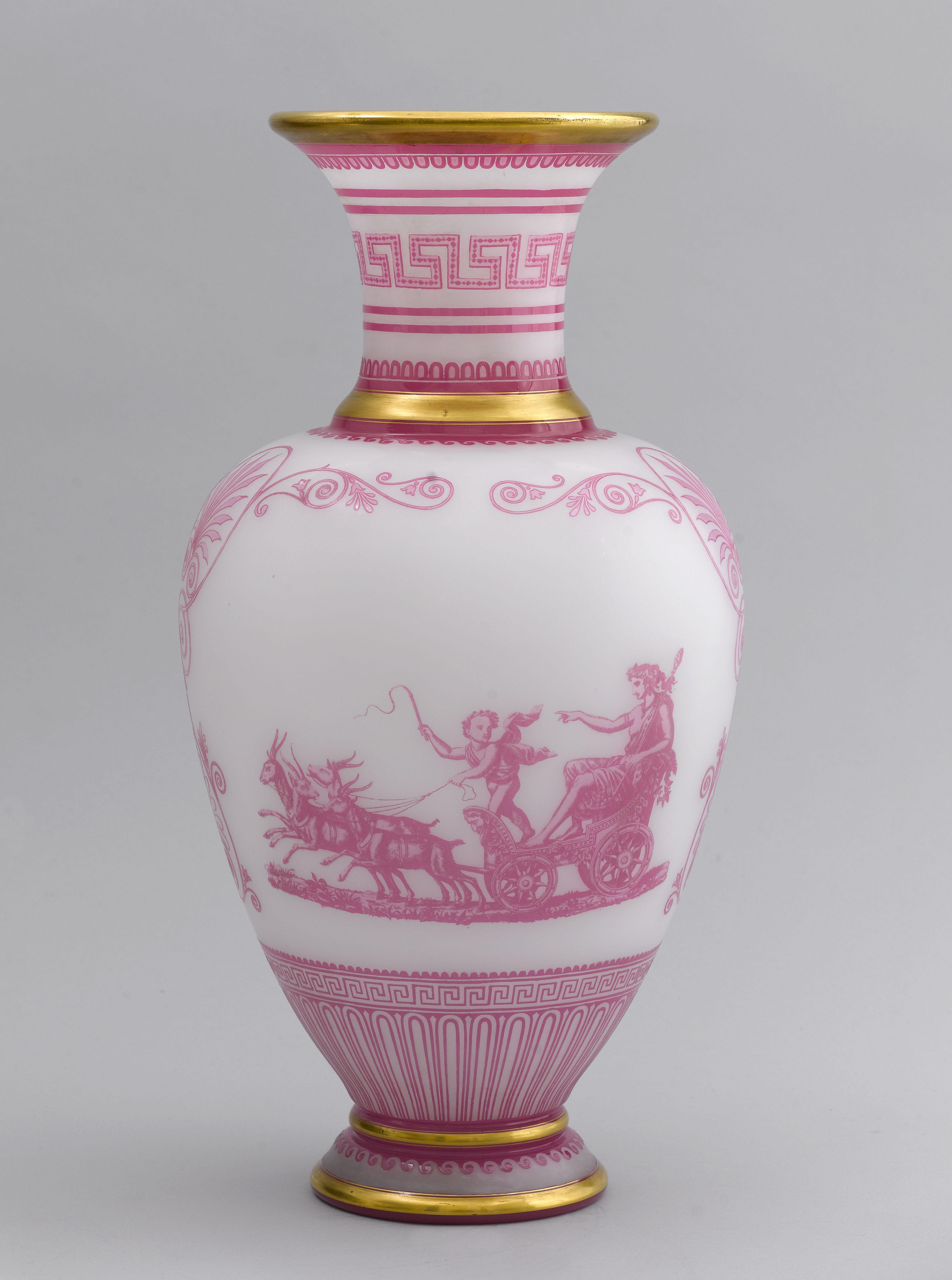 Baccarat Crystal - Greek revival vase