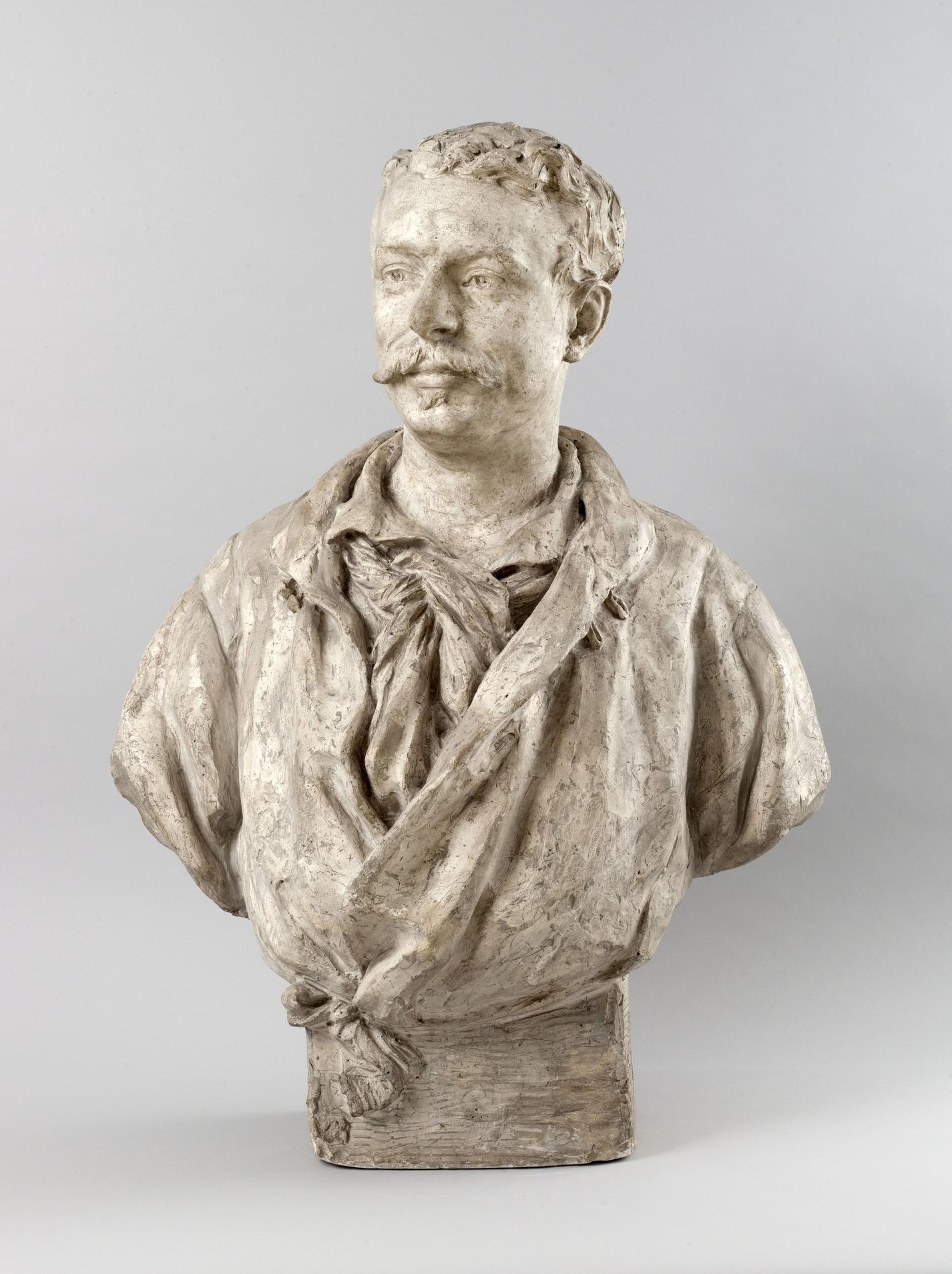 Jean-Baptiste Carpeaux - Buste de Samuel Welles de La Valette