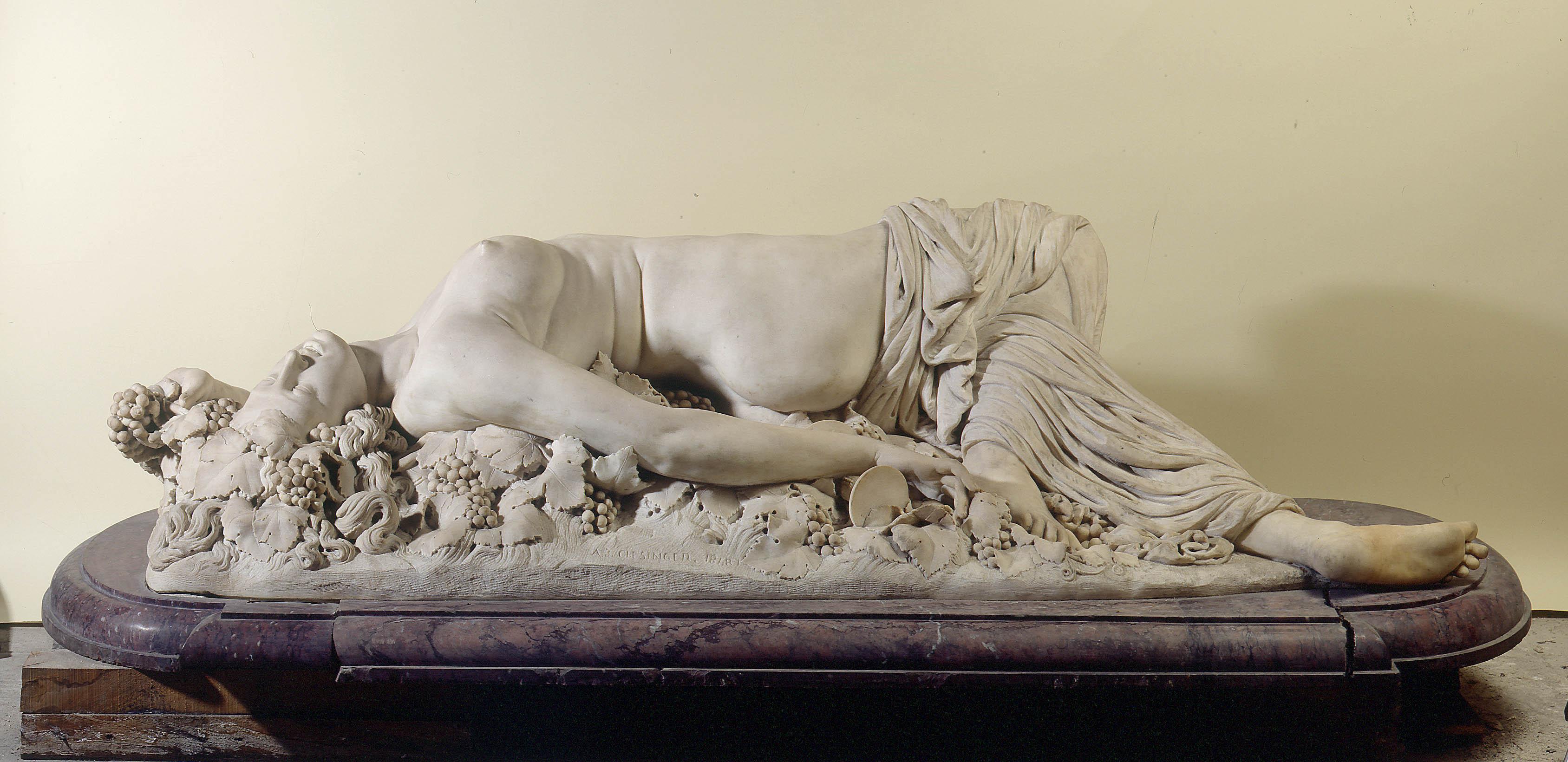 Auguste Clesinger - Bacchante couchée