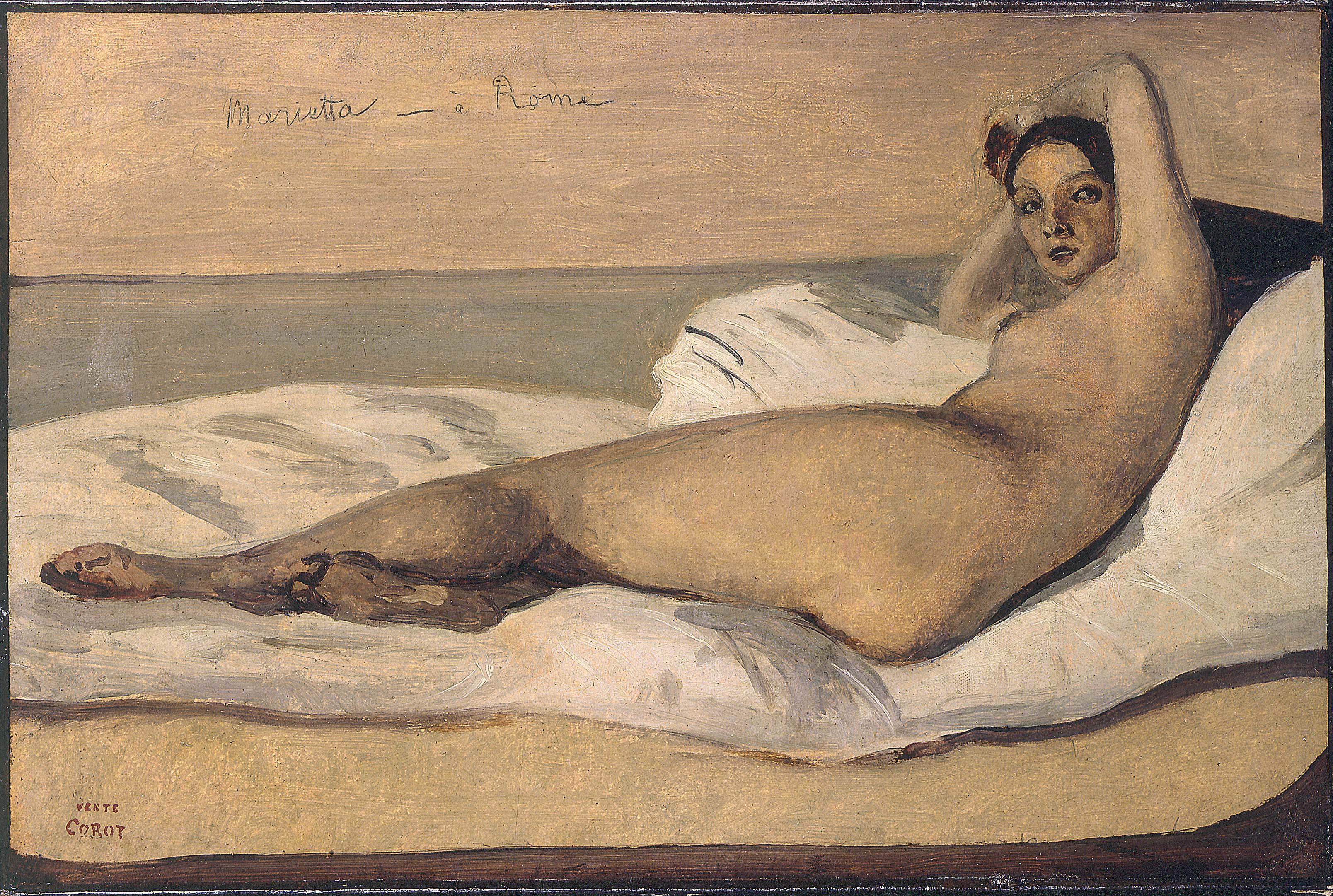 Camille Corot - Marietta