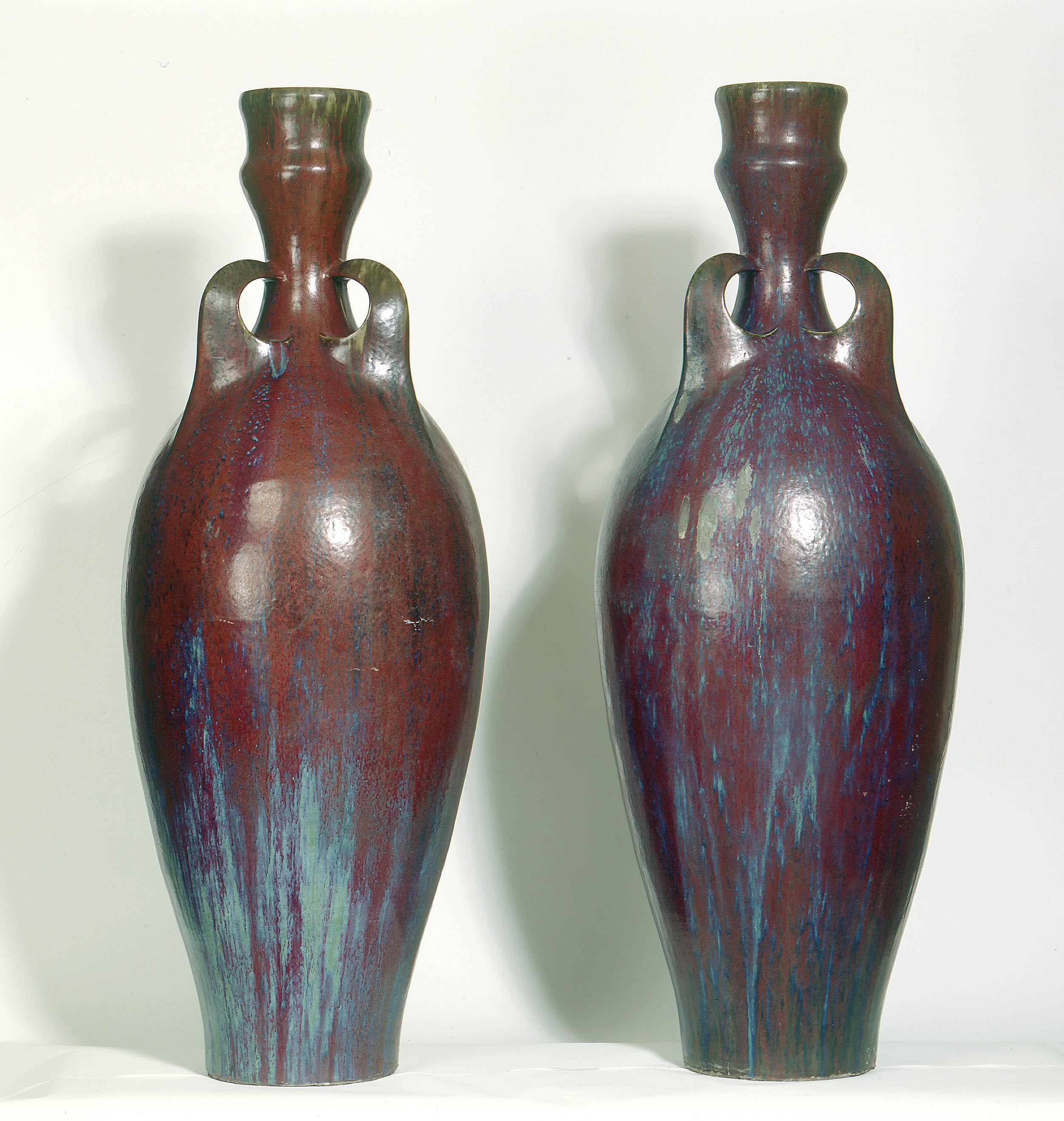 Pair of vases - Pierre-Adrien Dalpayrat