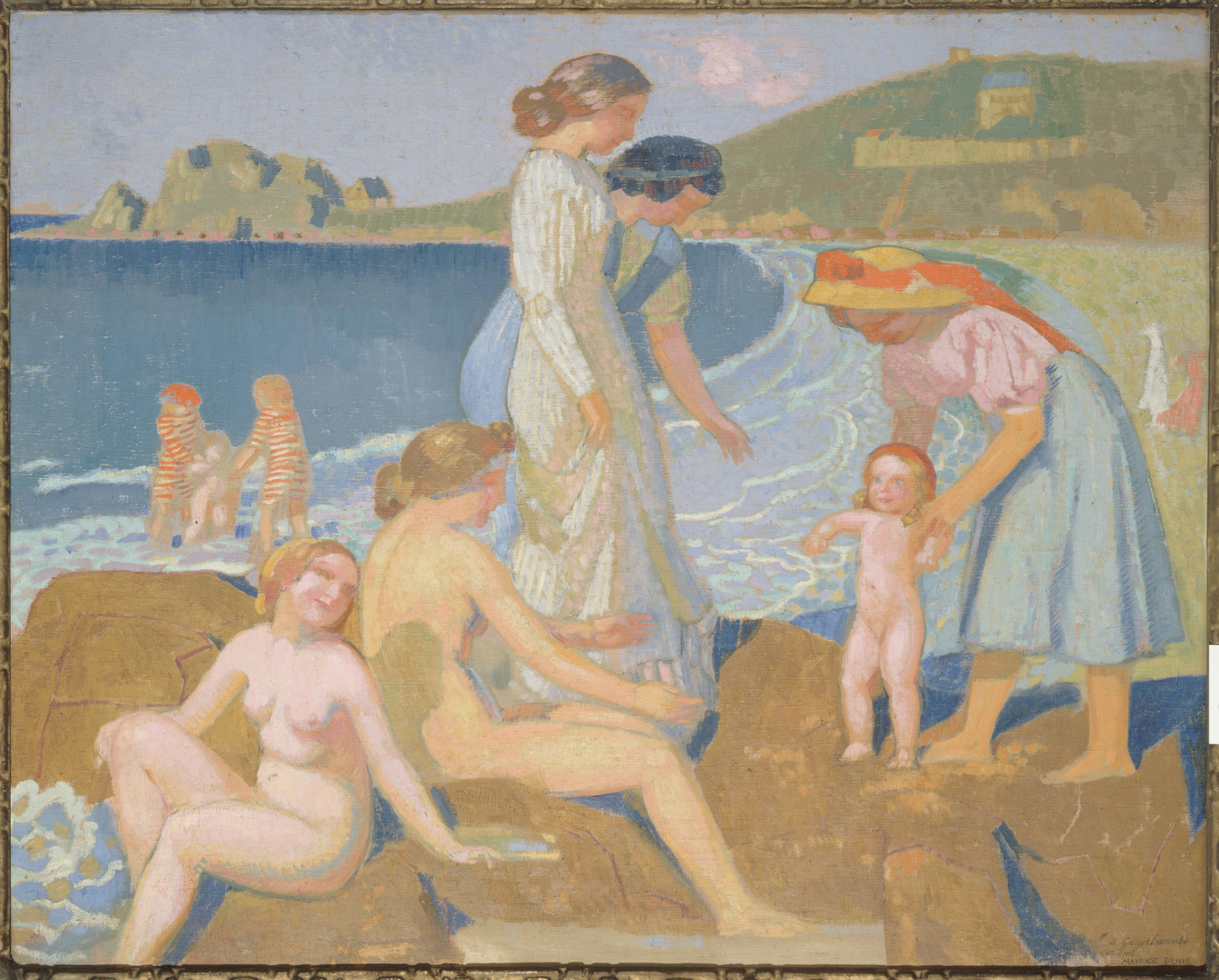 Maurice Denis - Female bathers at Perros-Guirec