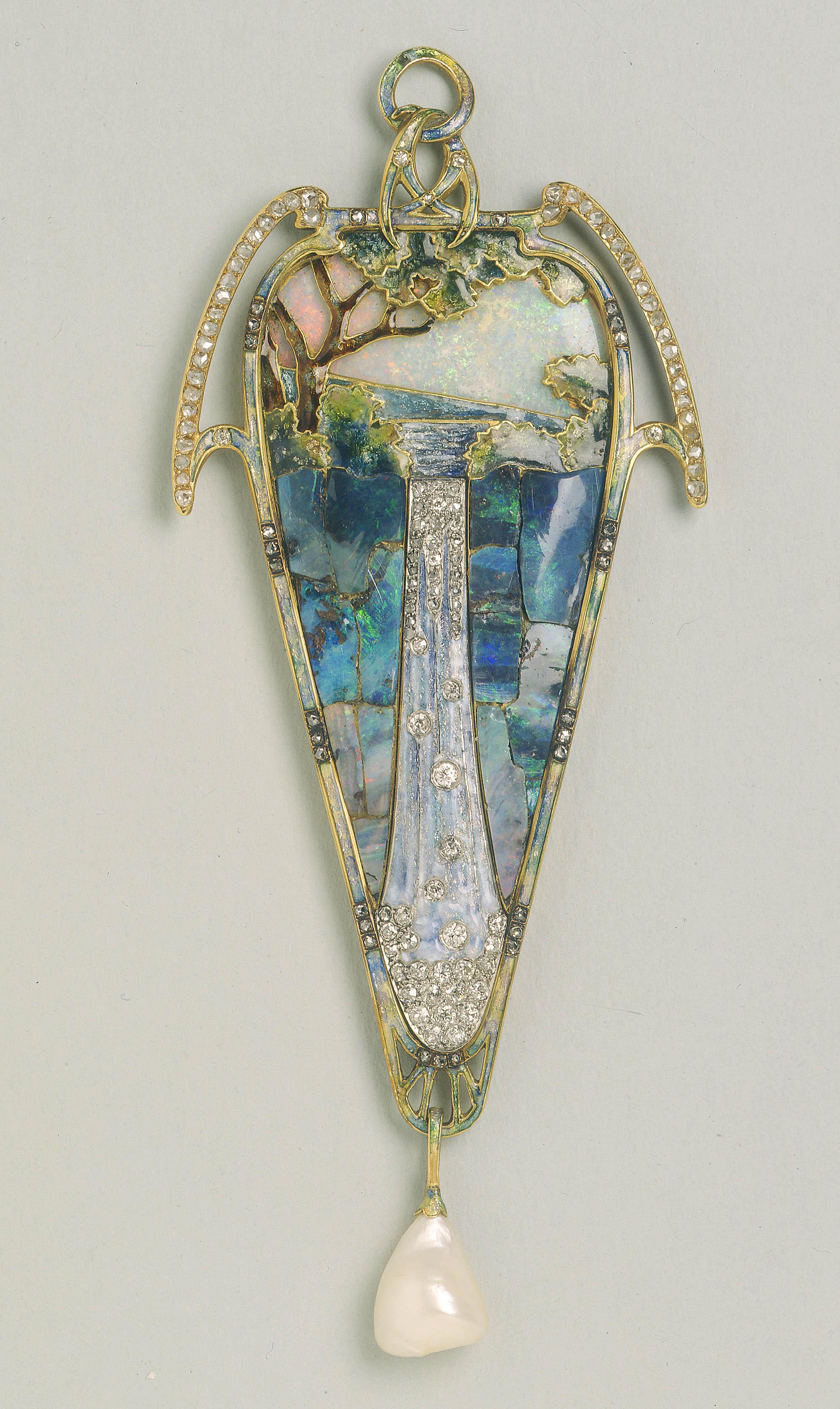 Georges Fouquet - Cascade Pendant