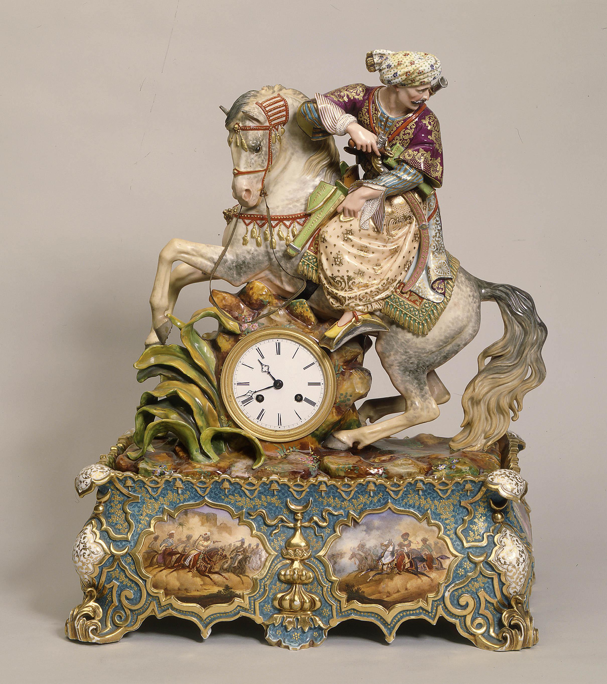 Jacob Petit - Mameluke clock