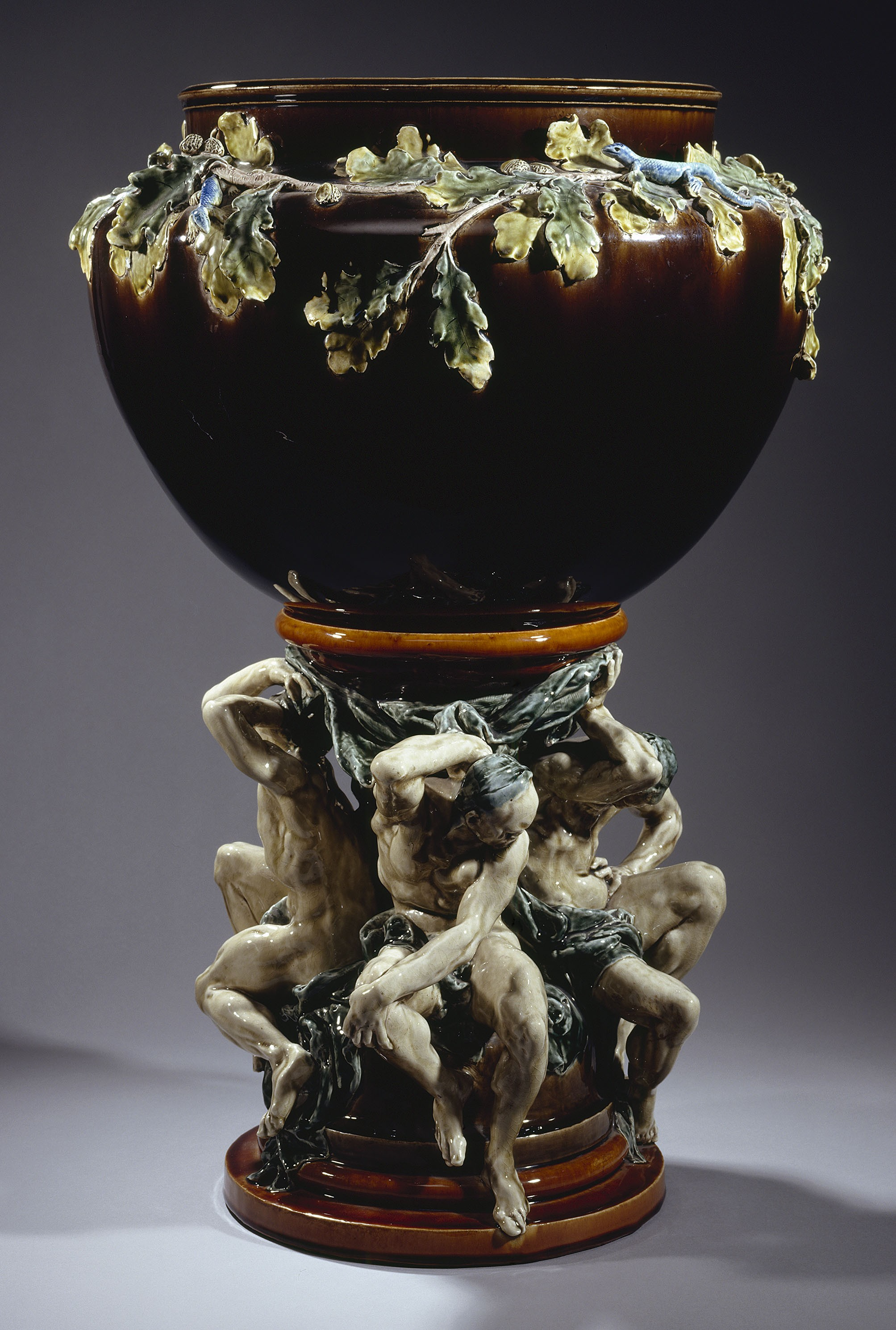 Jardinière « des Titans » - Auguste Rodin et Albert Carrier-Belleuse