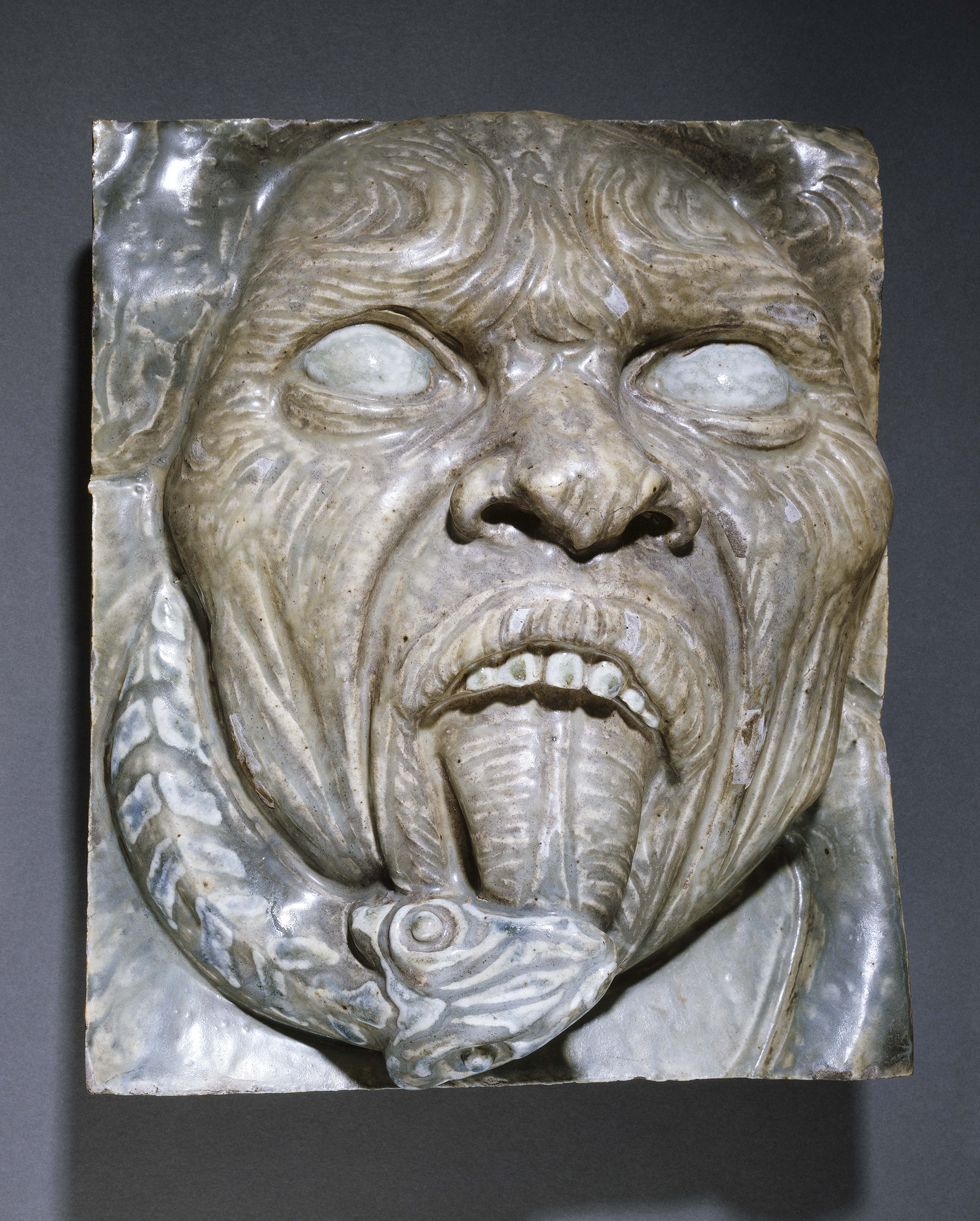 grotesque mask fragment of the reverse side petit palais