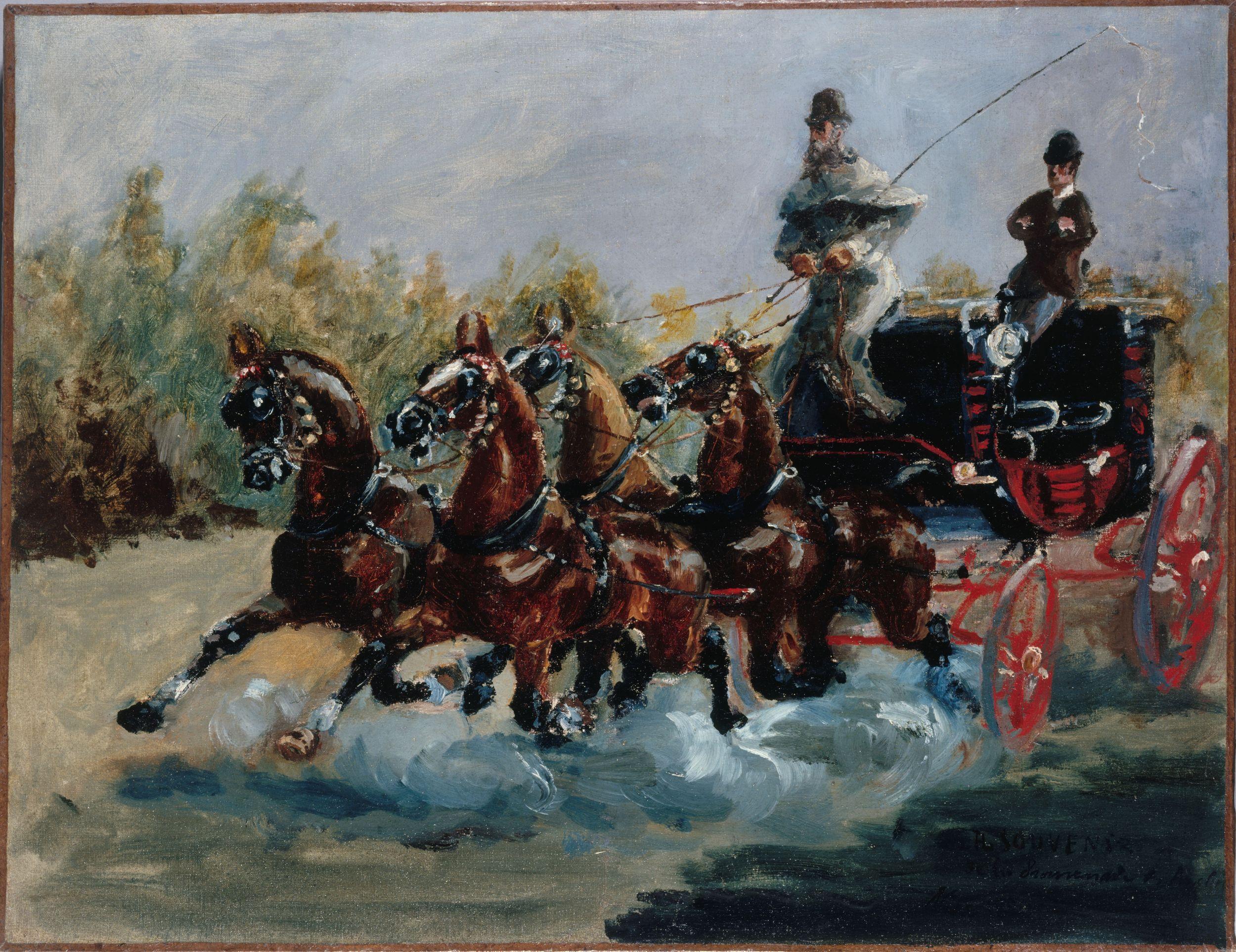 Toulouse-Lautrec : Nice, on the Promenade des Anglais