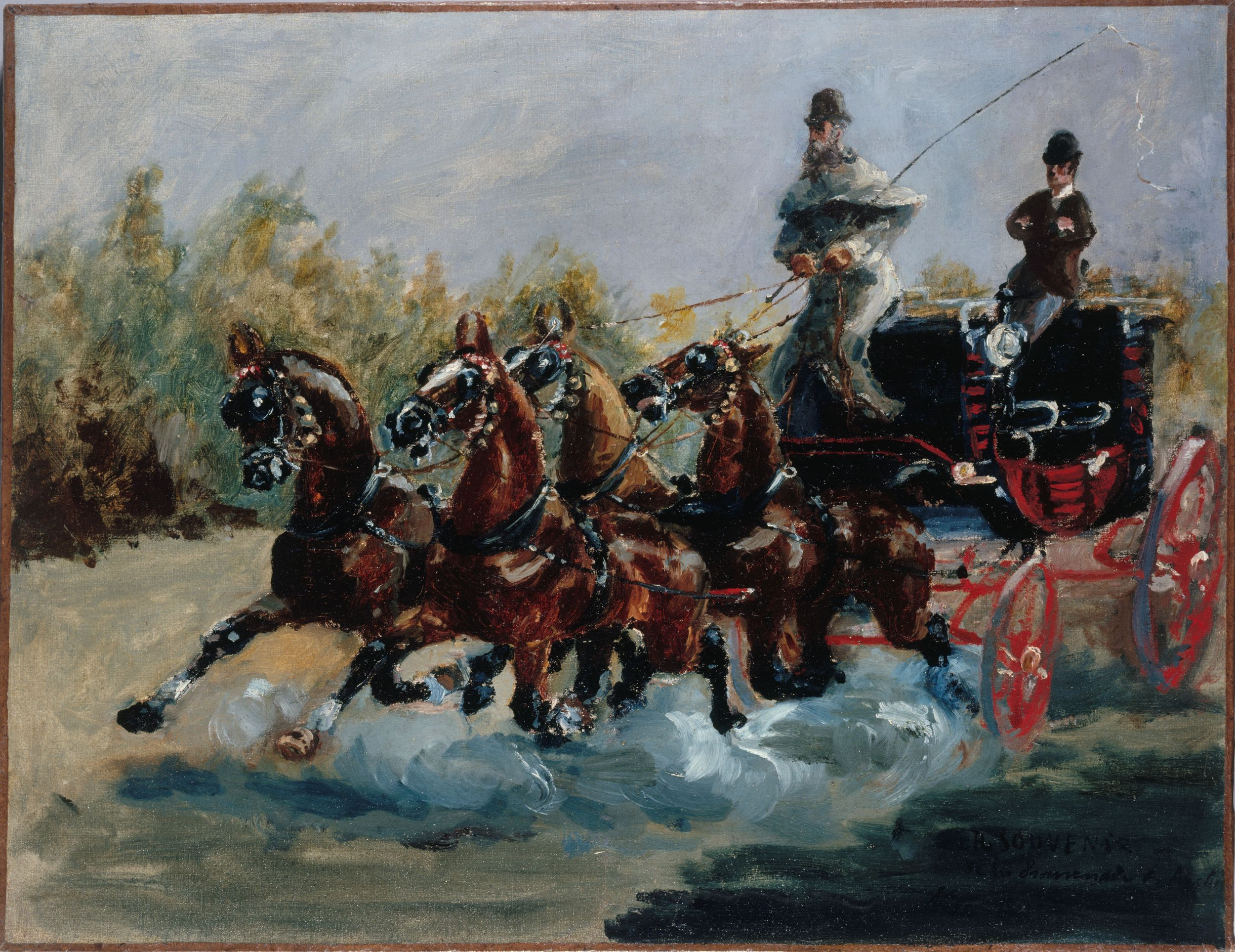 Toulouse-Lautrec : Nice, souvenir de la promenade des Anglais