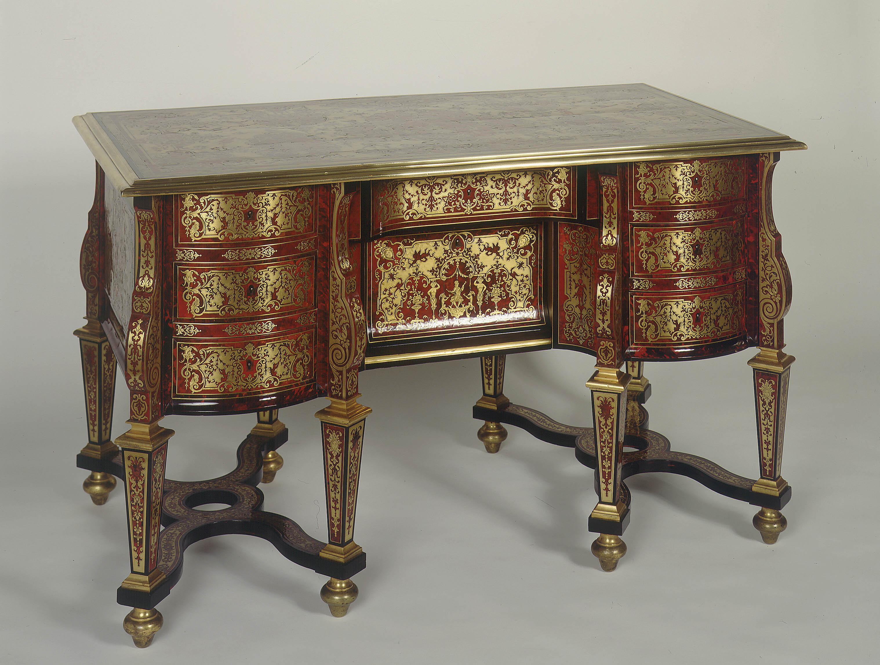 Nicolas Sageot - Mazarin table desk