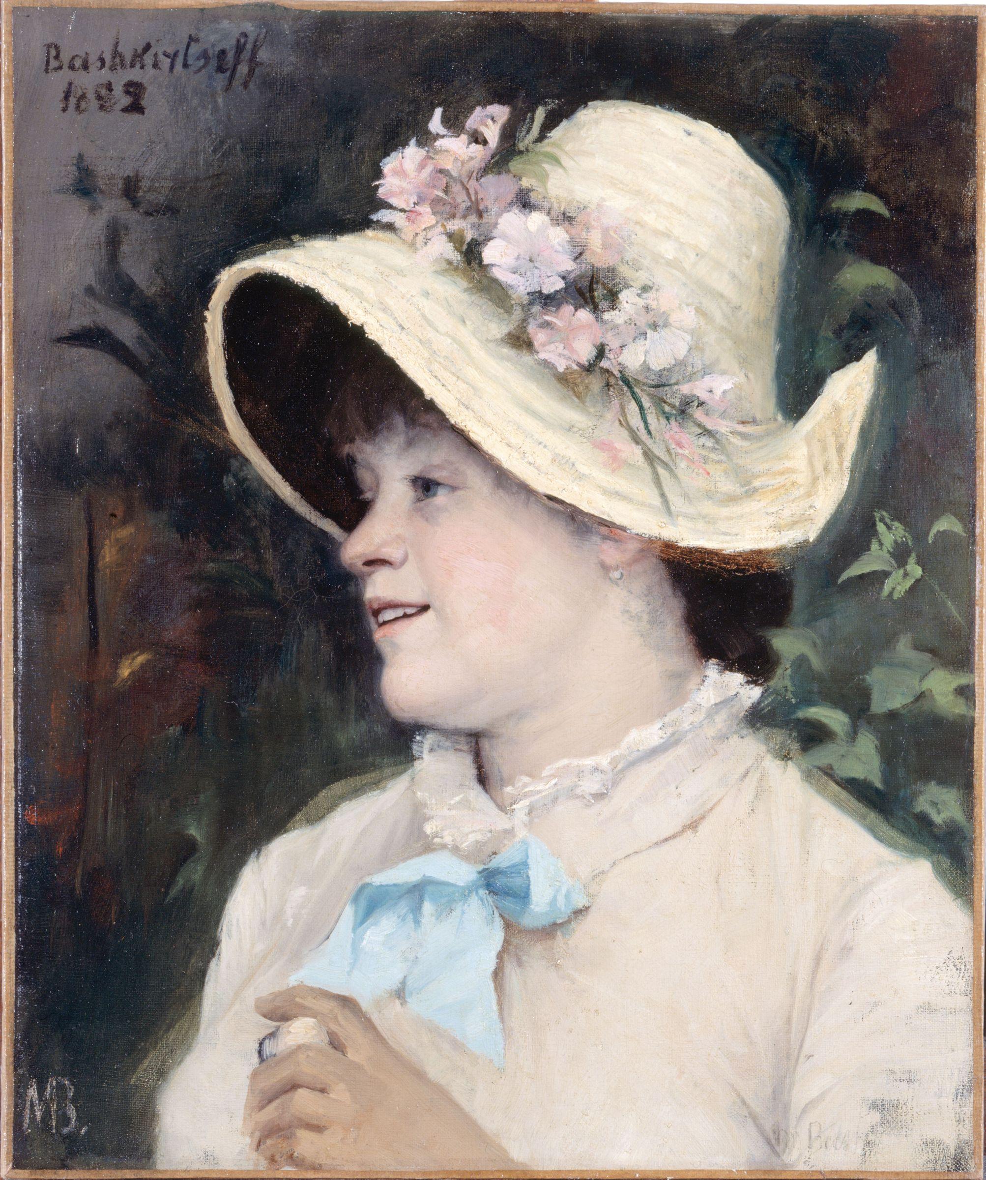 Marie Constantine Bashkirtseff : Parisienne, Portrait of Irma
