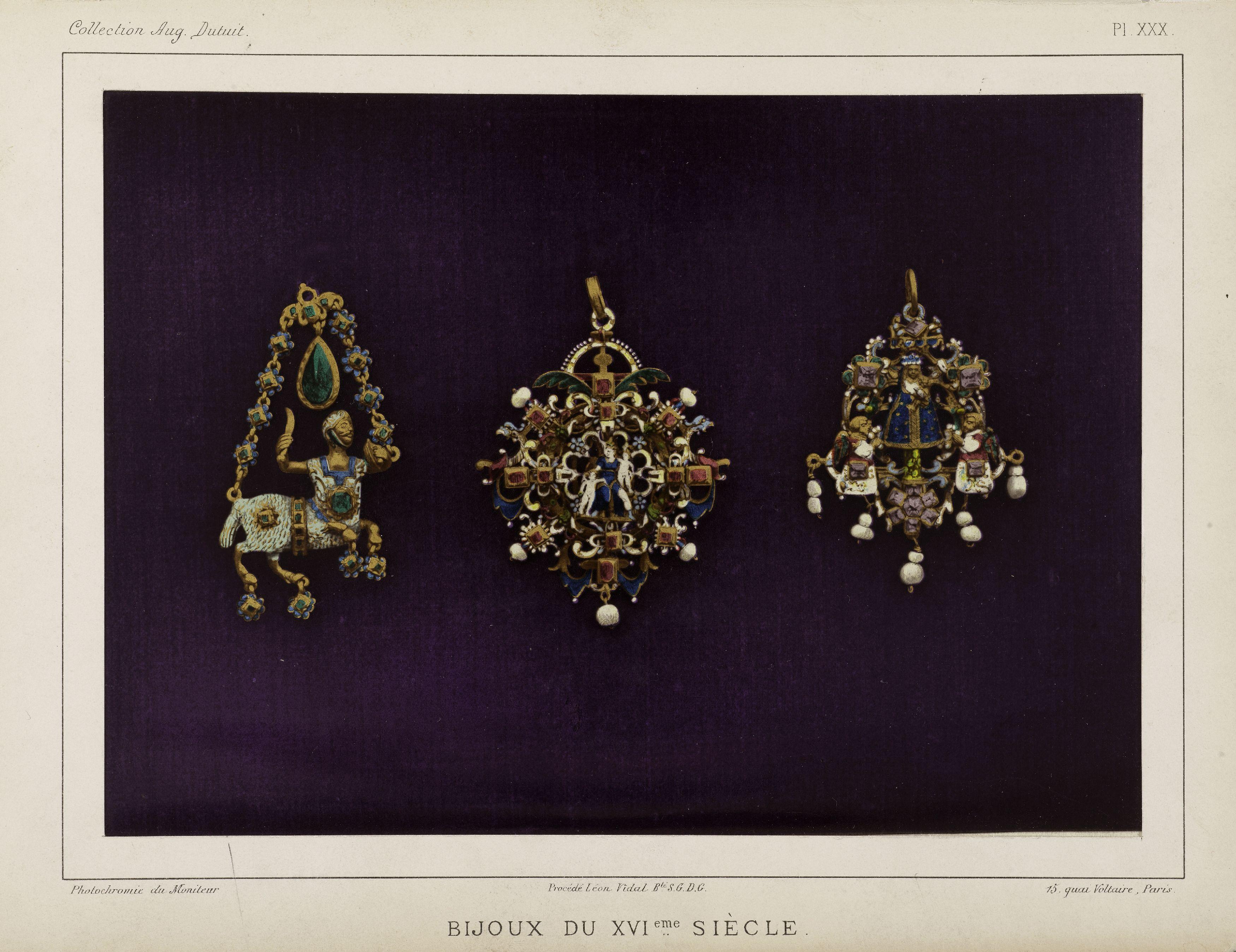 16th century jewellery