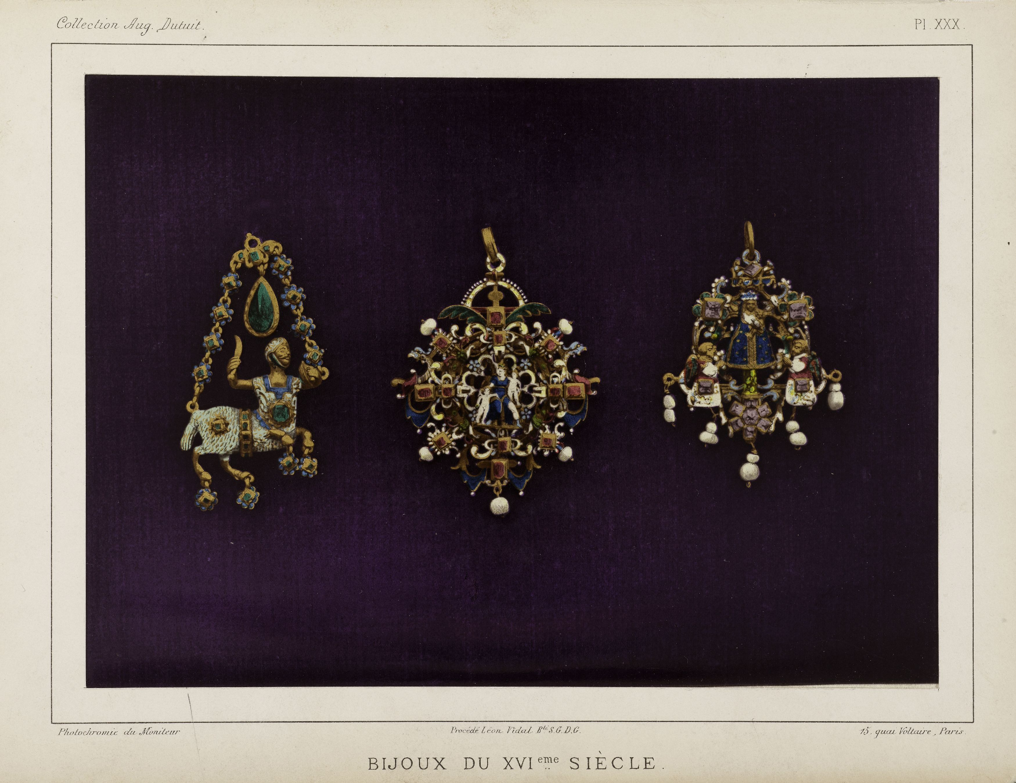 Bijoux du XVIe siècle