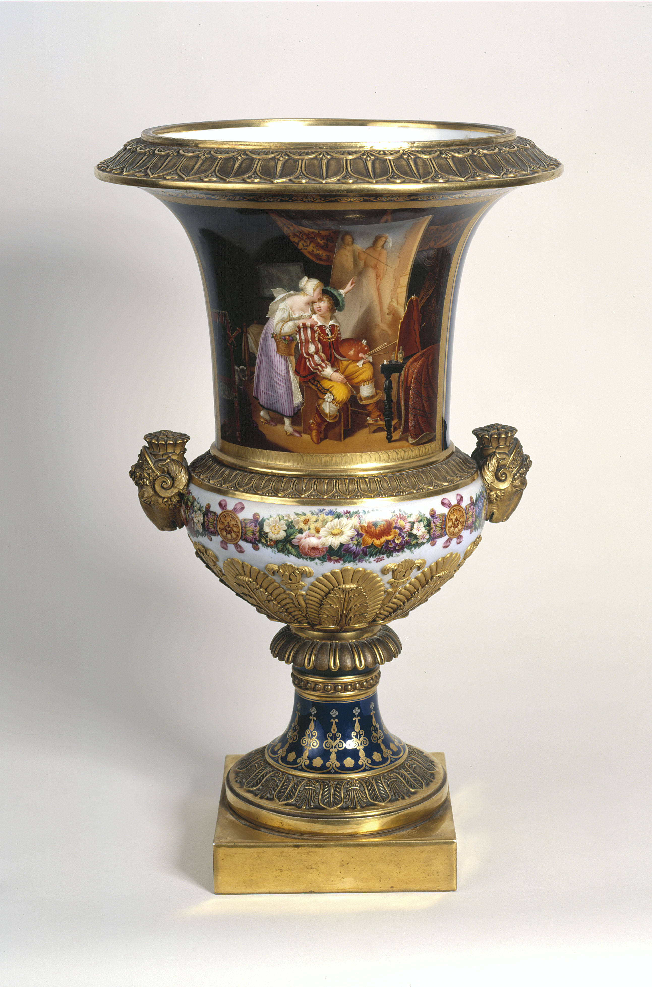 Louis-Ferdinand Lachassaigne - Vase