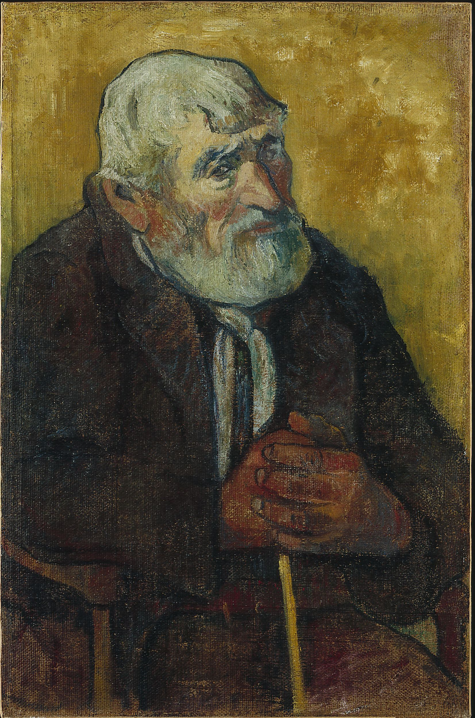 Gauguin : Old Man with a Stick