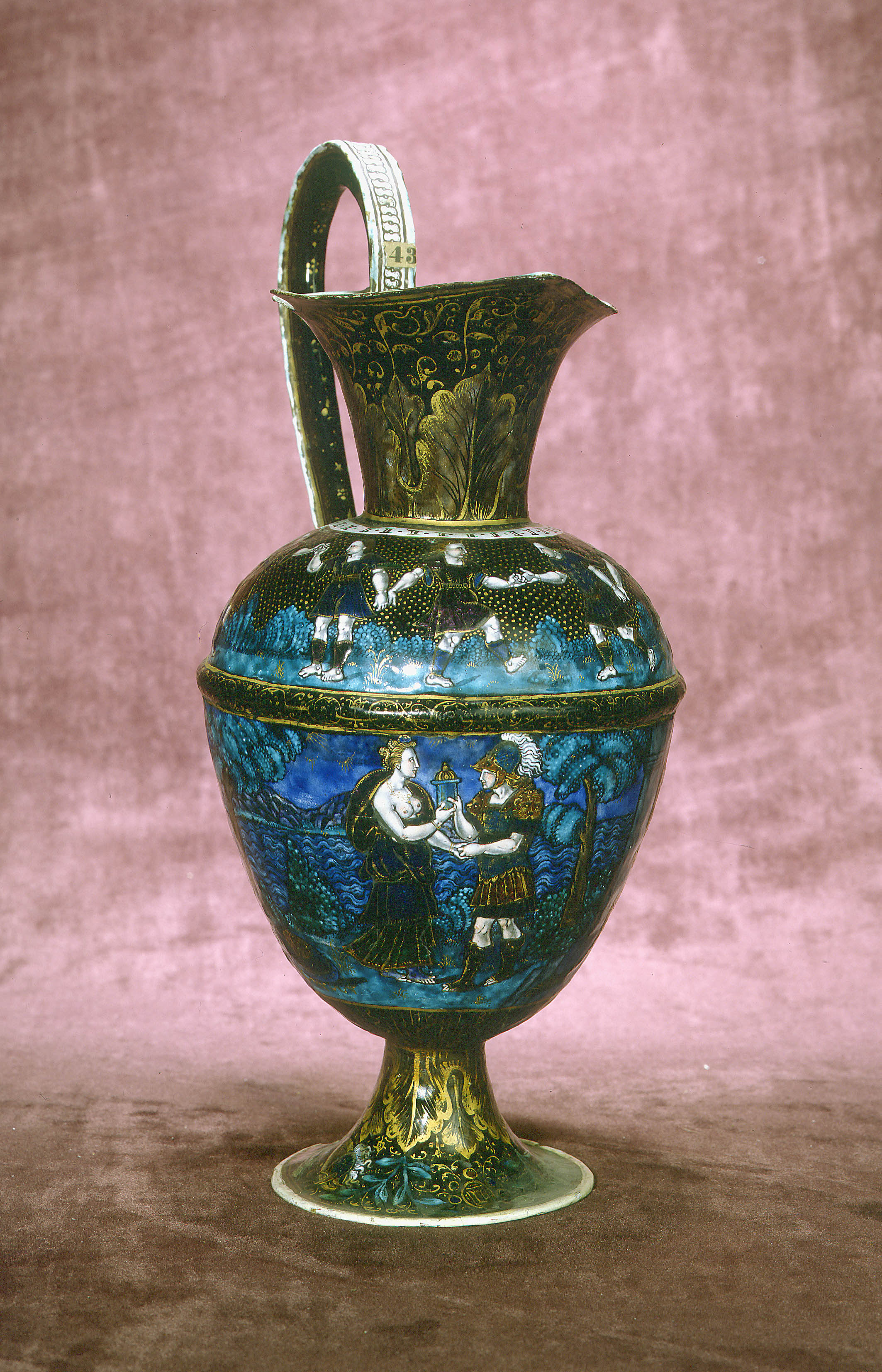Master I.C. -  Ewer : scenes from the story of Jason and the Golden Fleece
