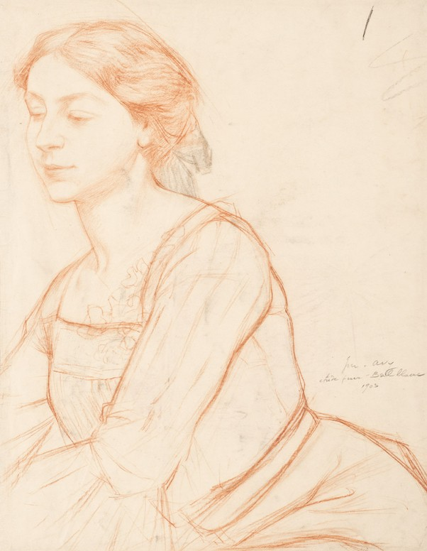 Joseph-Marius Avy - Study for the pianist of Bal blanc - PPD04777