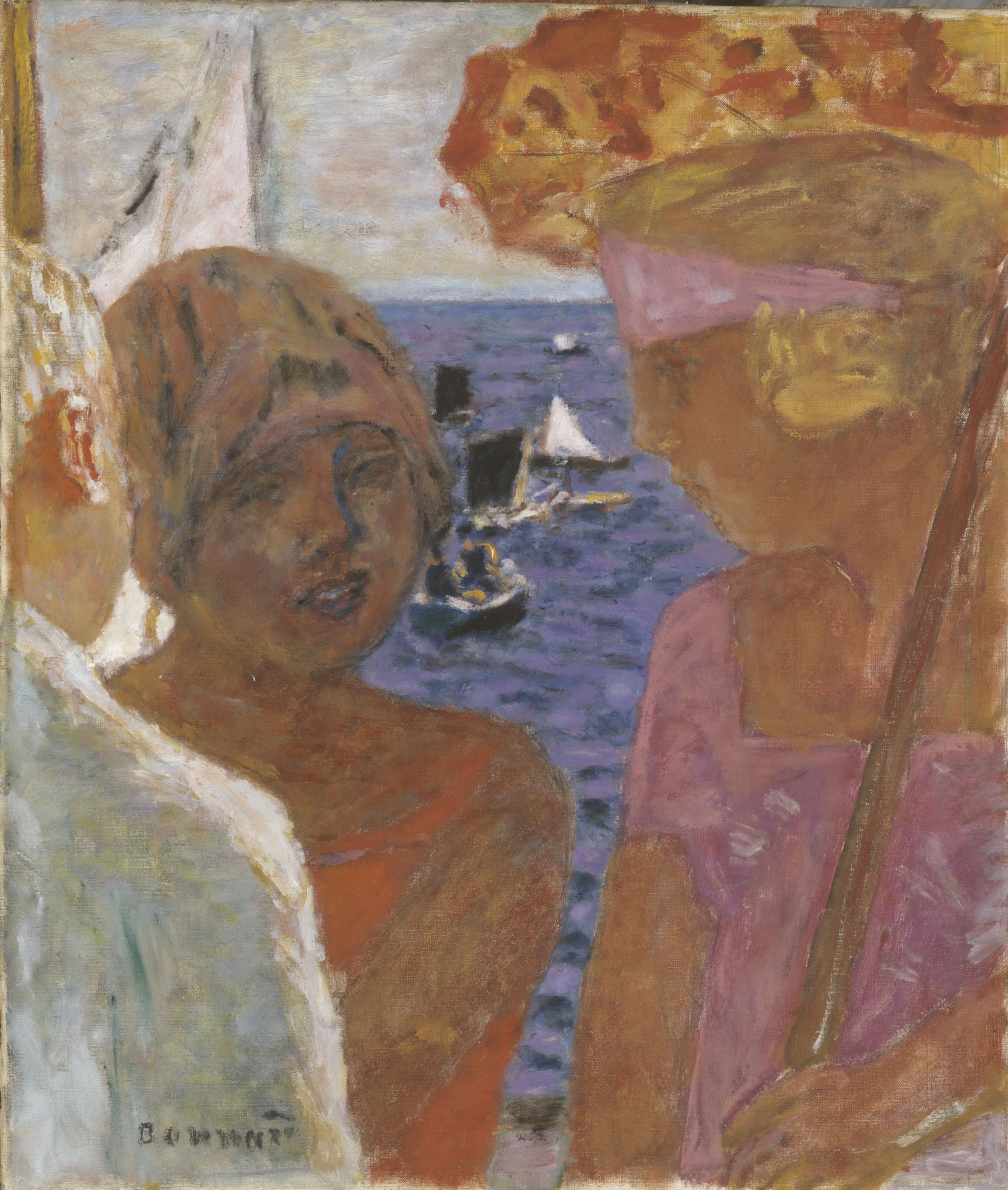 Pierre Bonnard - Conversation à Arcachon