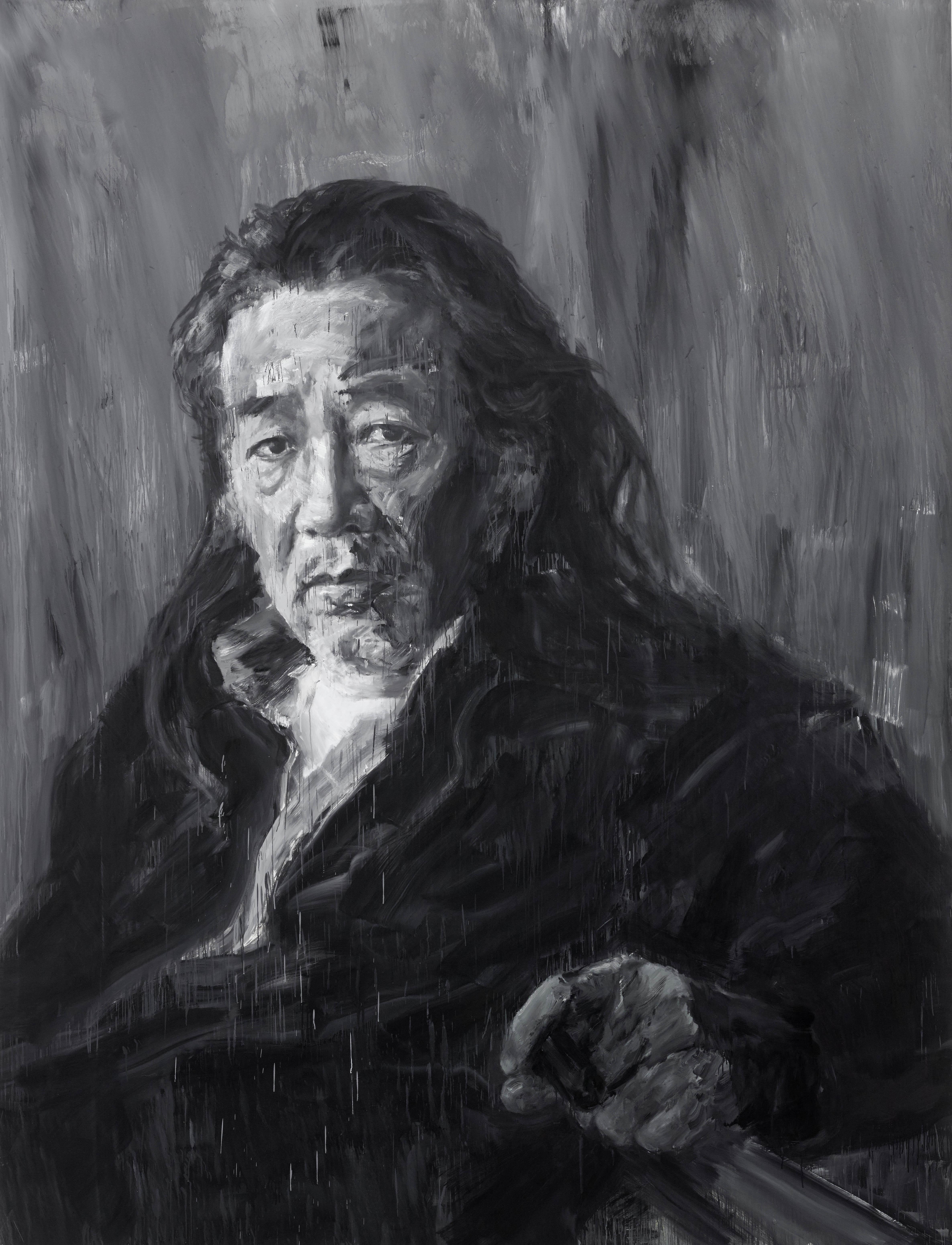 Yan Pei-Ming / Courbet