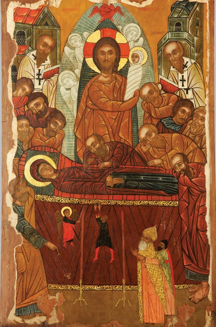 L'icône de la Dormition du Patriarcat maronite