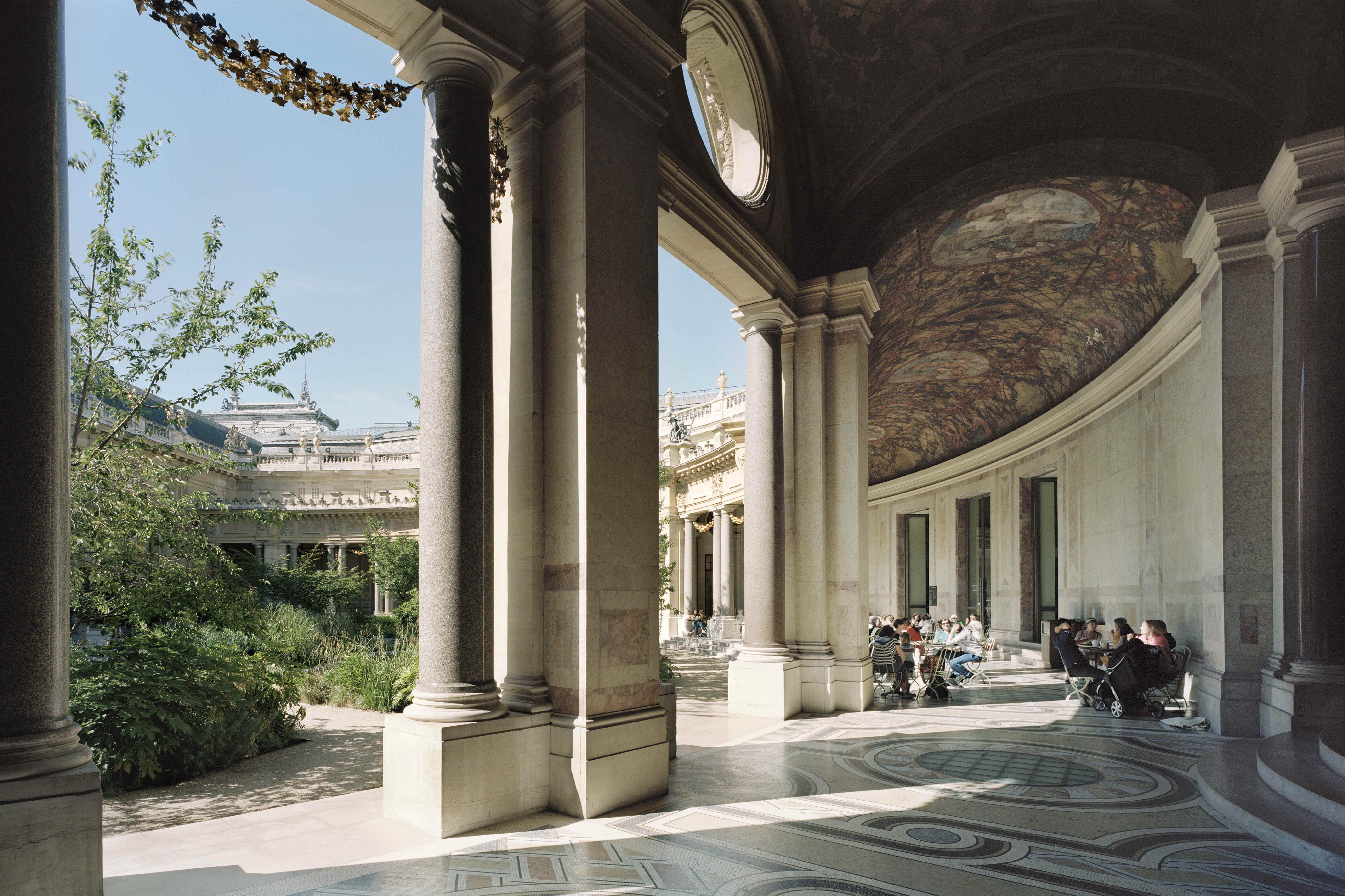 Le jardin petit palais for Cafe le jardin du petit palais