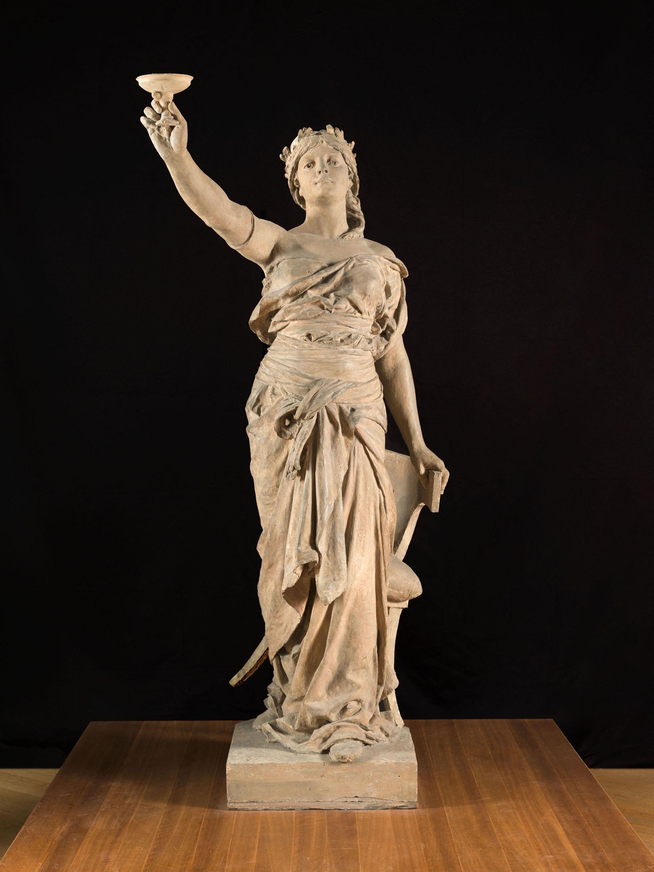 Trois mod les de statues pour la salle manger de l 39 h tel de ville de paris petit palais - La salle a manger paris ...