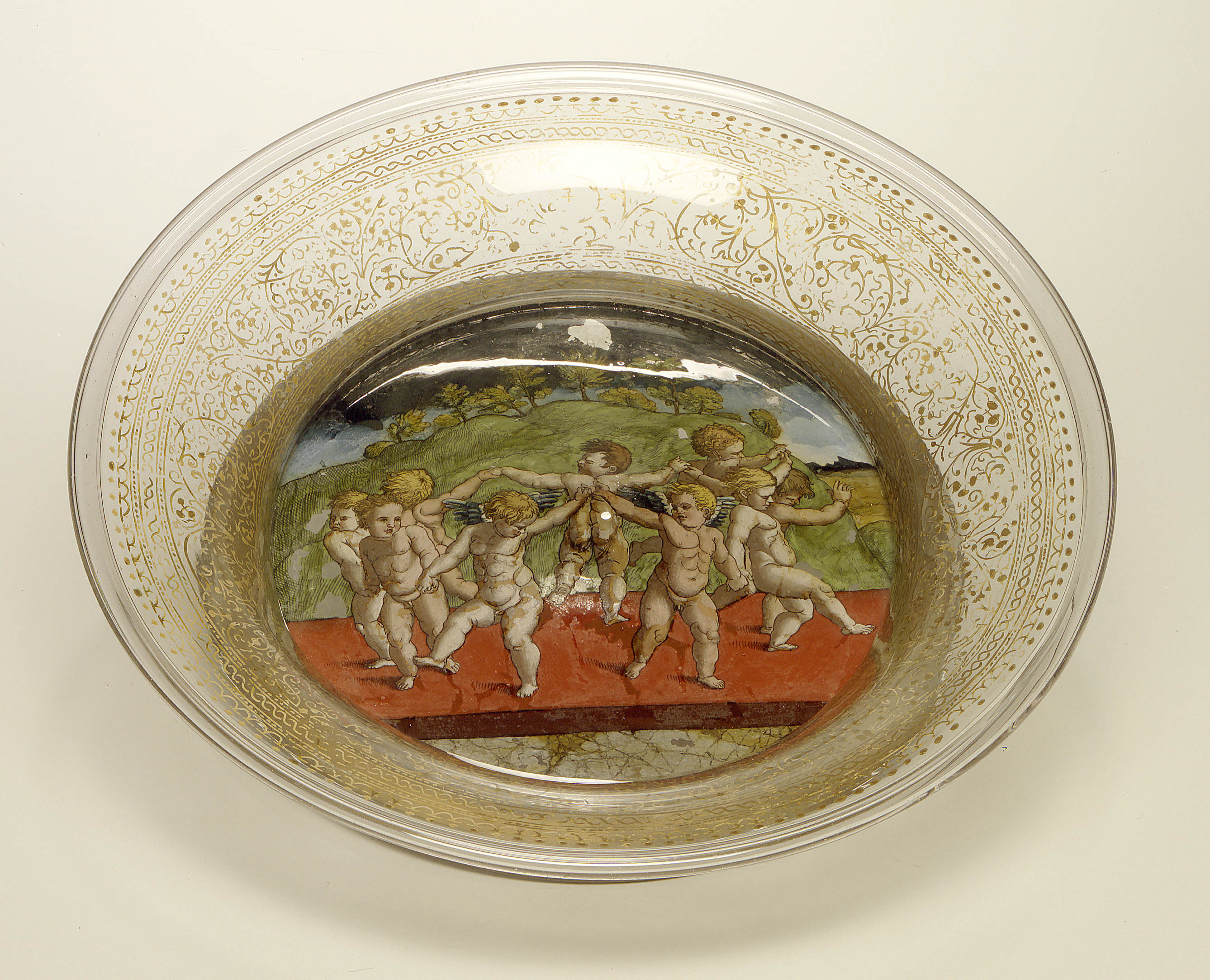 Bowl: The Dance of the Cupids