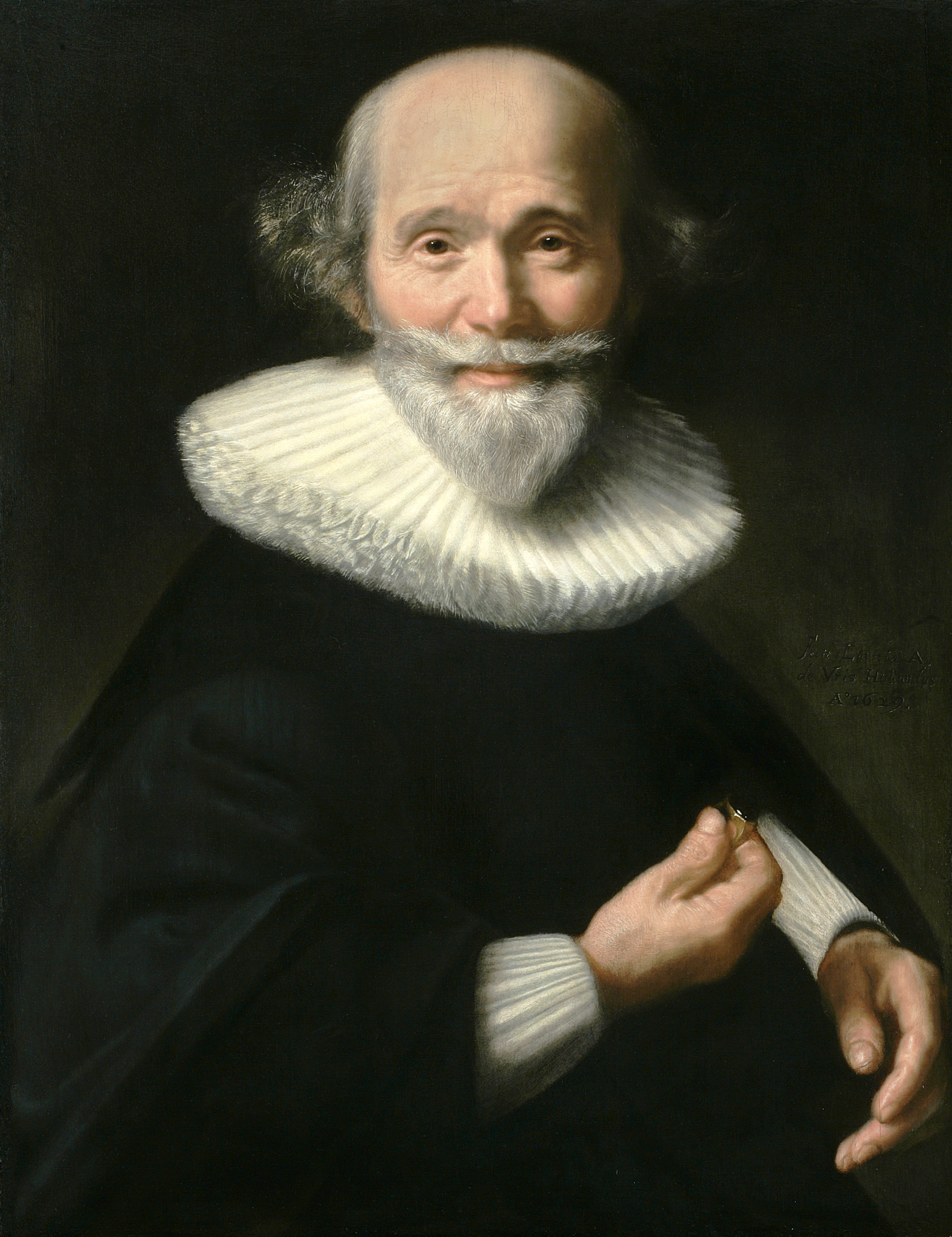 Abraham de Vries - Portrait of a man - PPP04980