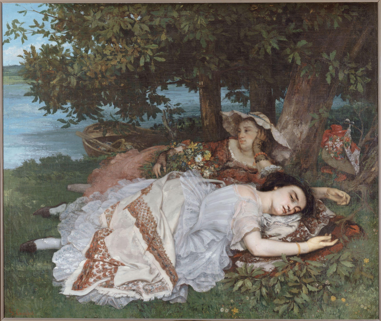 Gustave Courbet - Les Demoiselles des bords de la Seine