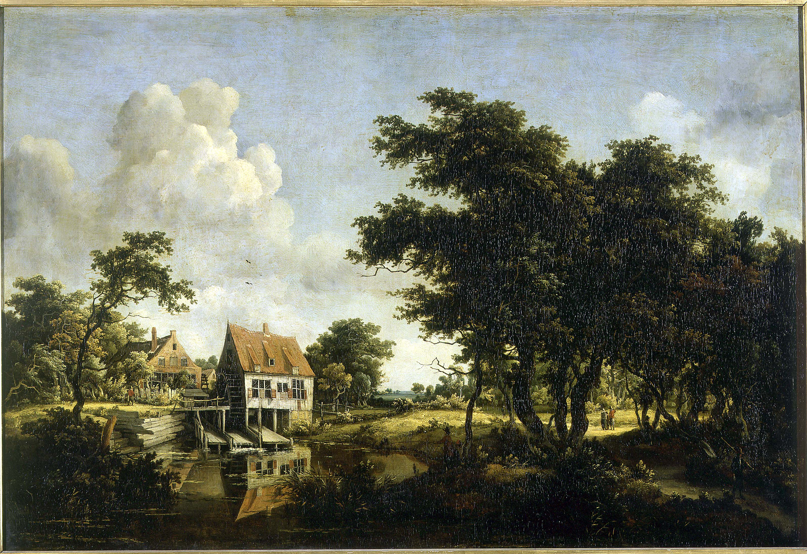 Meindert Hobbema - The Water Mills
