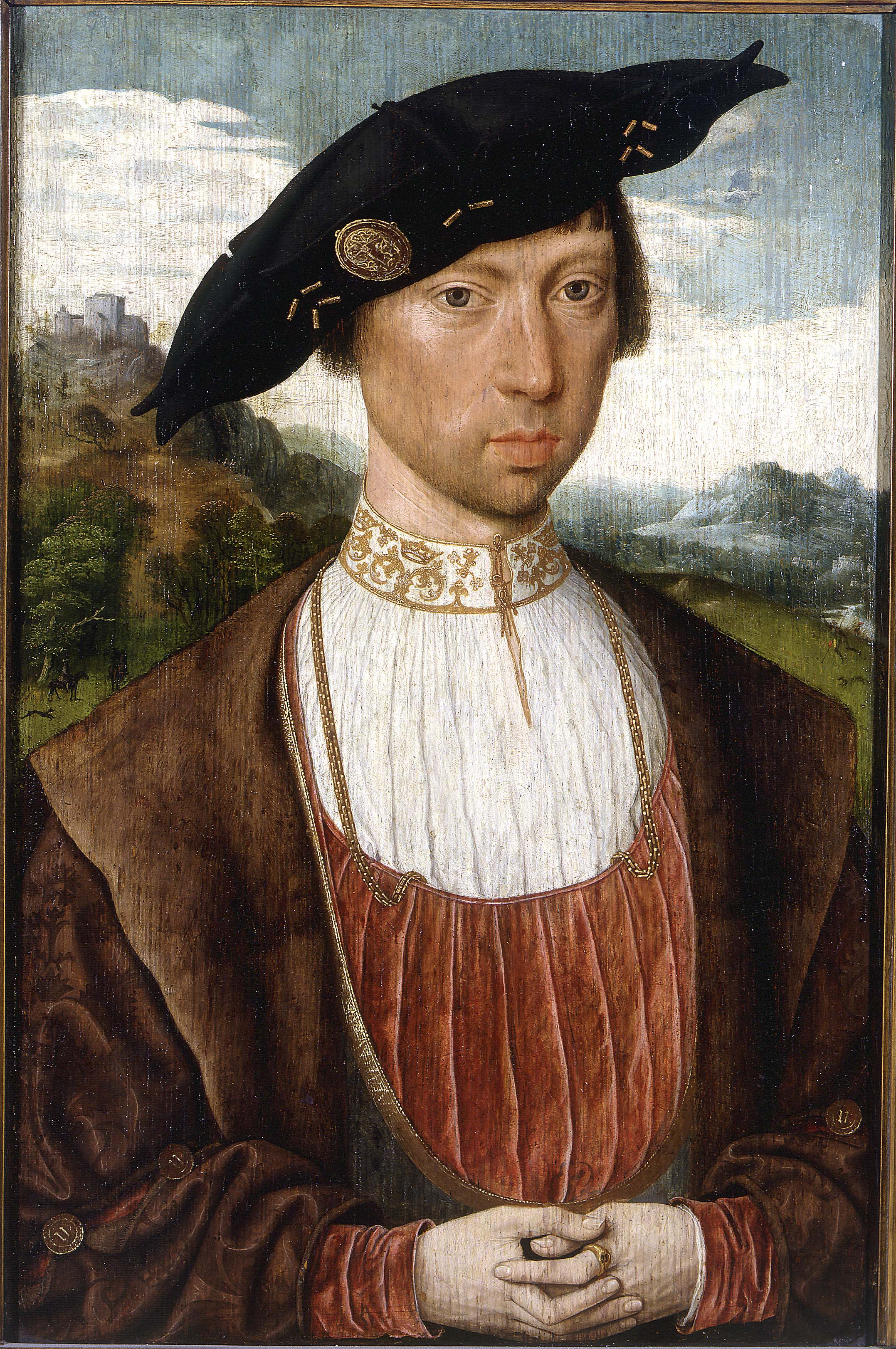 Jan Mostaert - Portrait of Joost van Bronkhorst