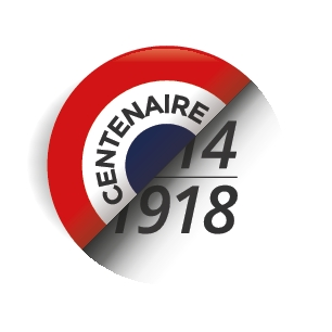 Label centenaire 1918