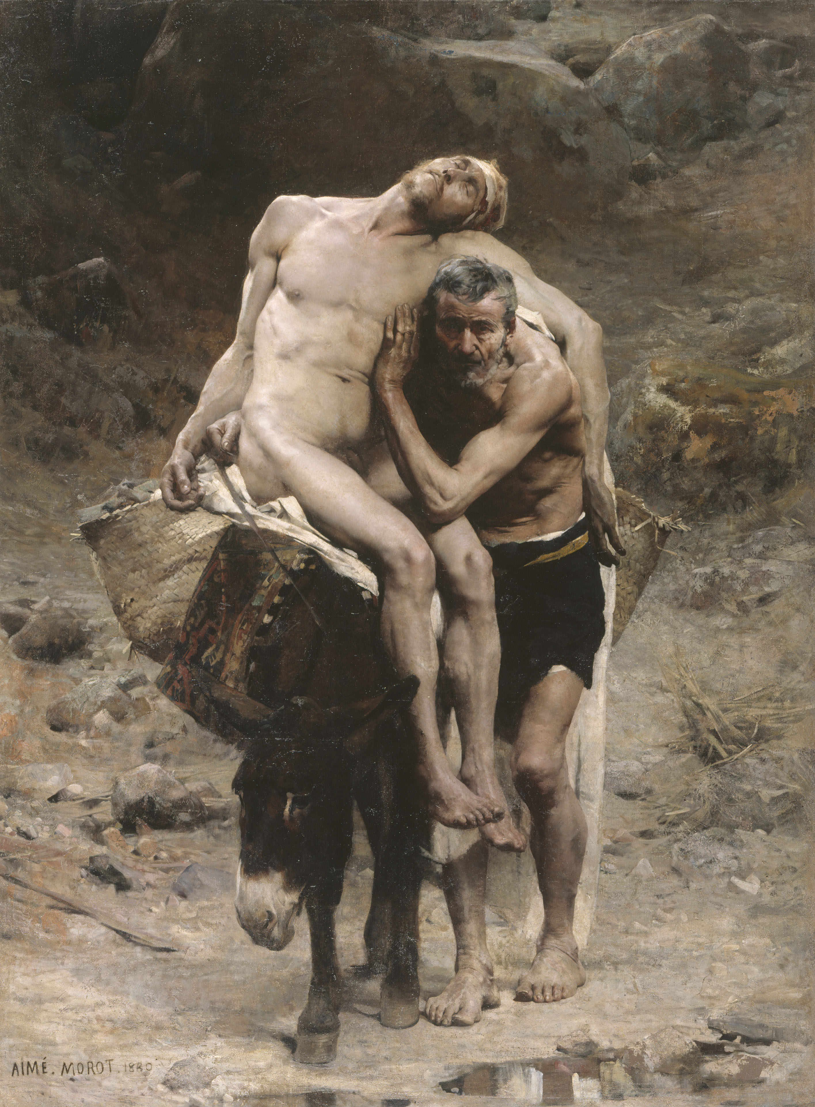 Aimé-Nicolas Morot - Le Bon Samaritain