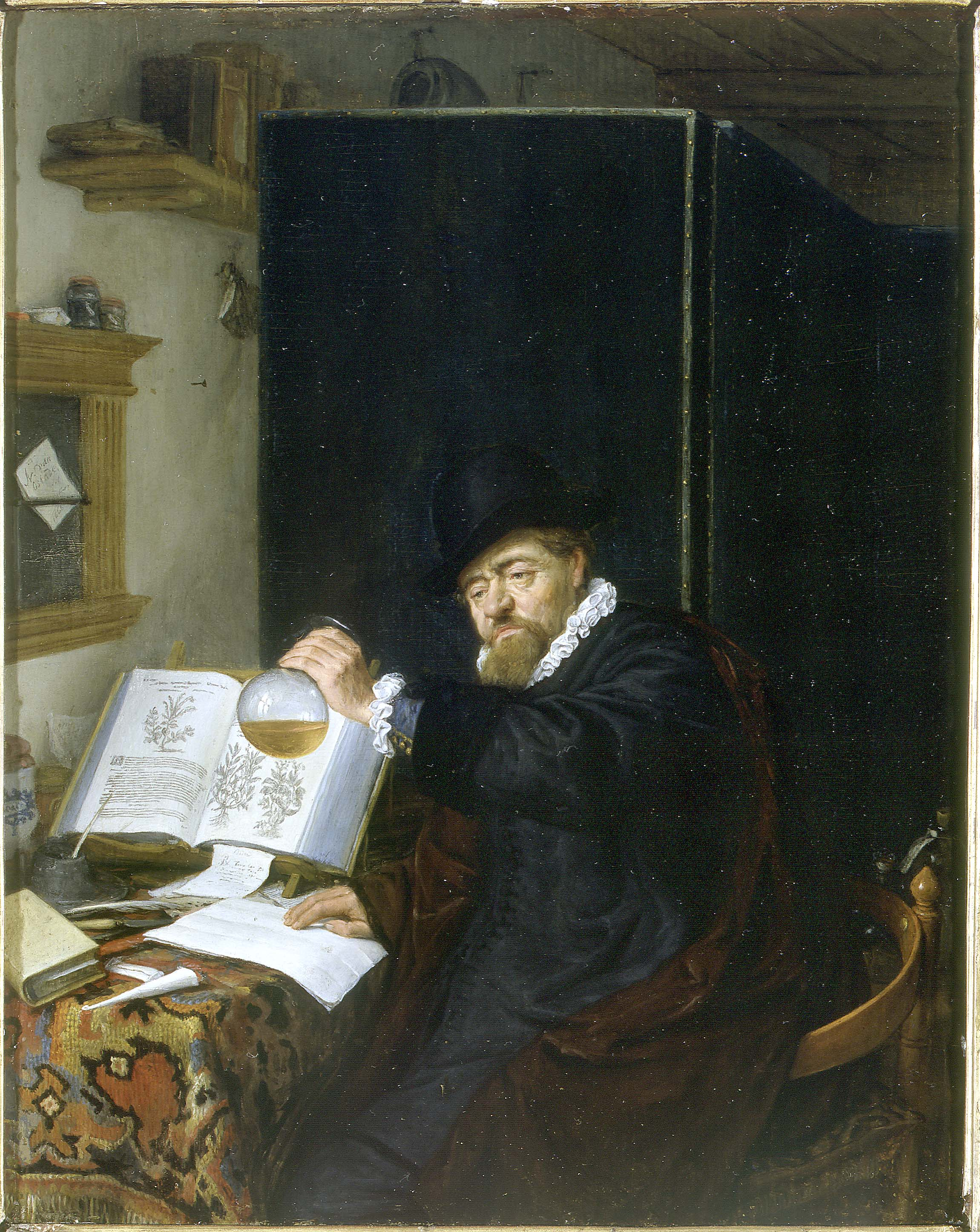 Adriaen van Ostade - The Analysis