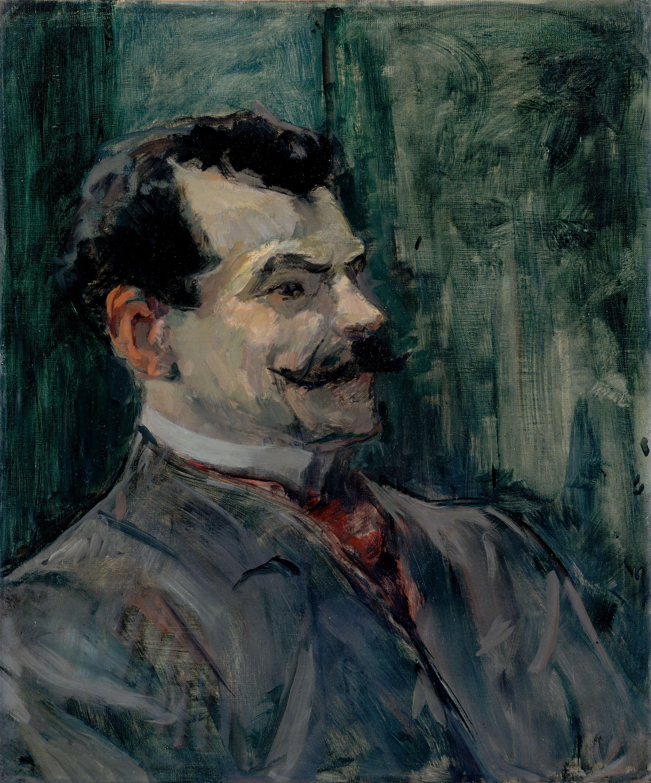 Toulouse-Lautrec : Portrait d'André Rivoire