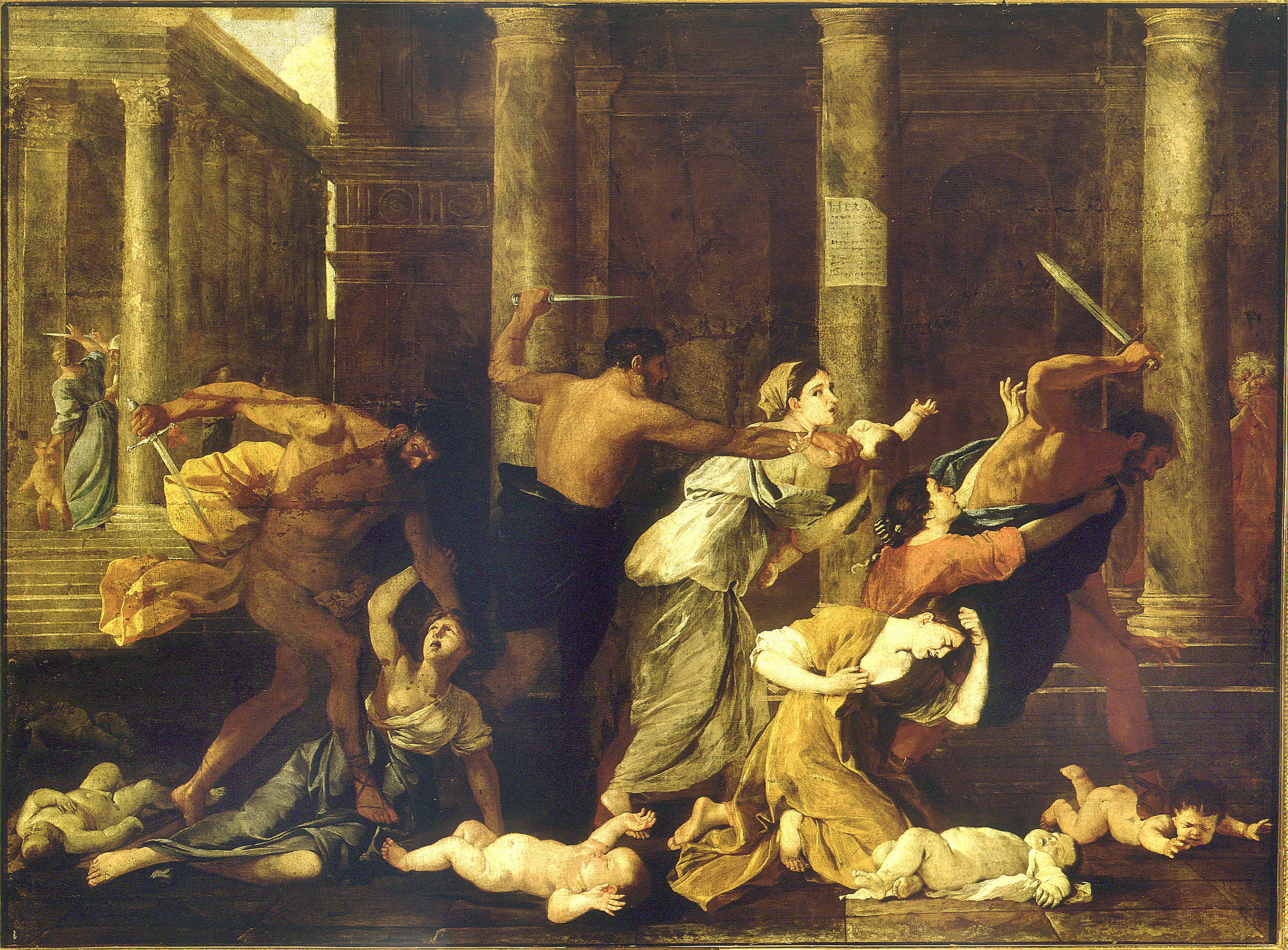 Nicolas Poussin - Le Massacre des Innocents