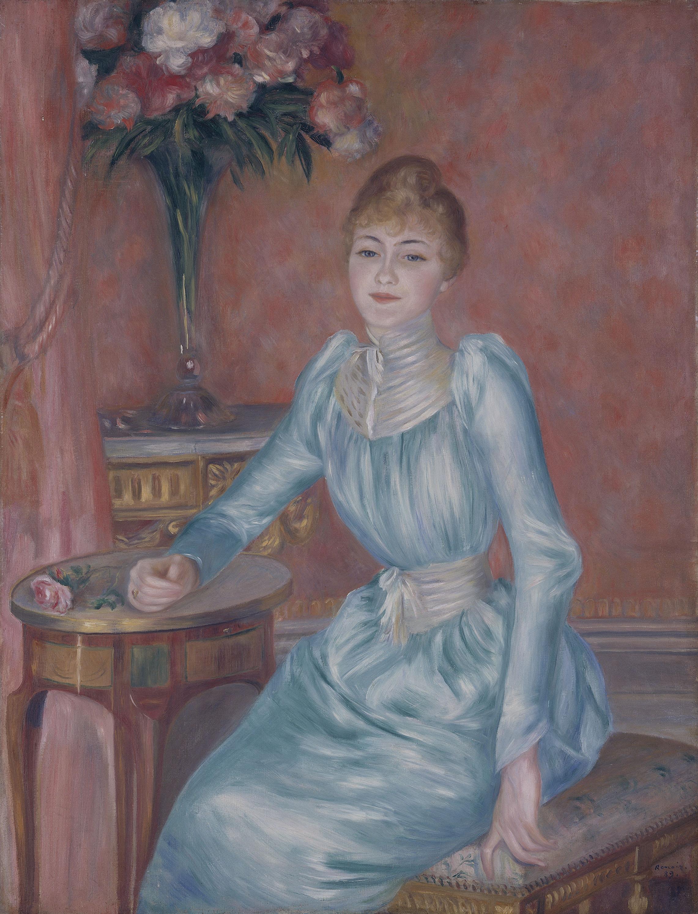 Pierre-Auguste Renoir - Portrait of Madame de Bonnières
