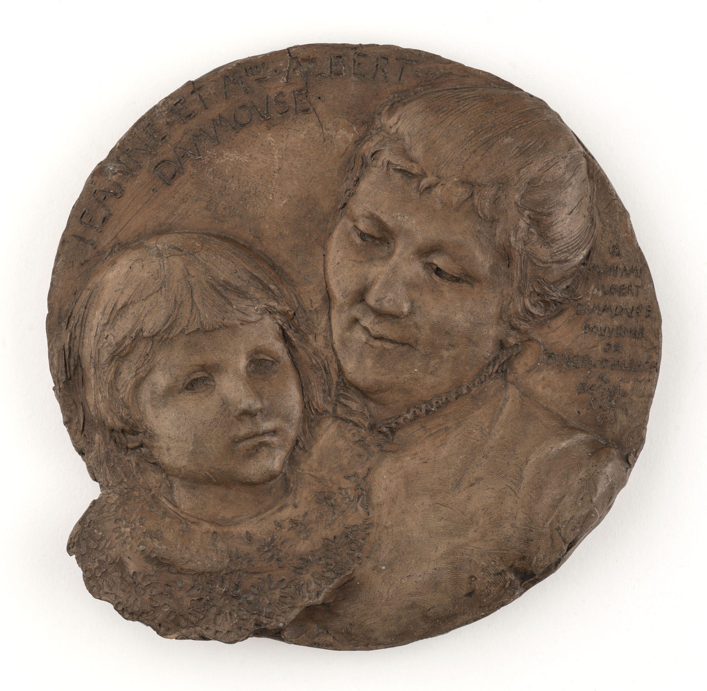 Ringel d'Illzach - Portrait de Jeanne et Mme Albert Dammouse - PPS03809