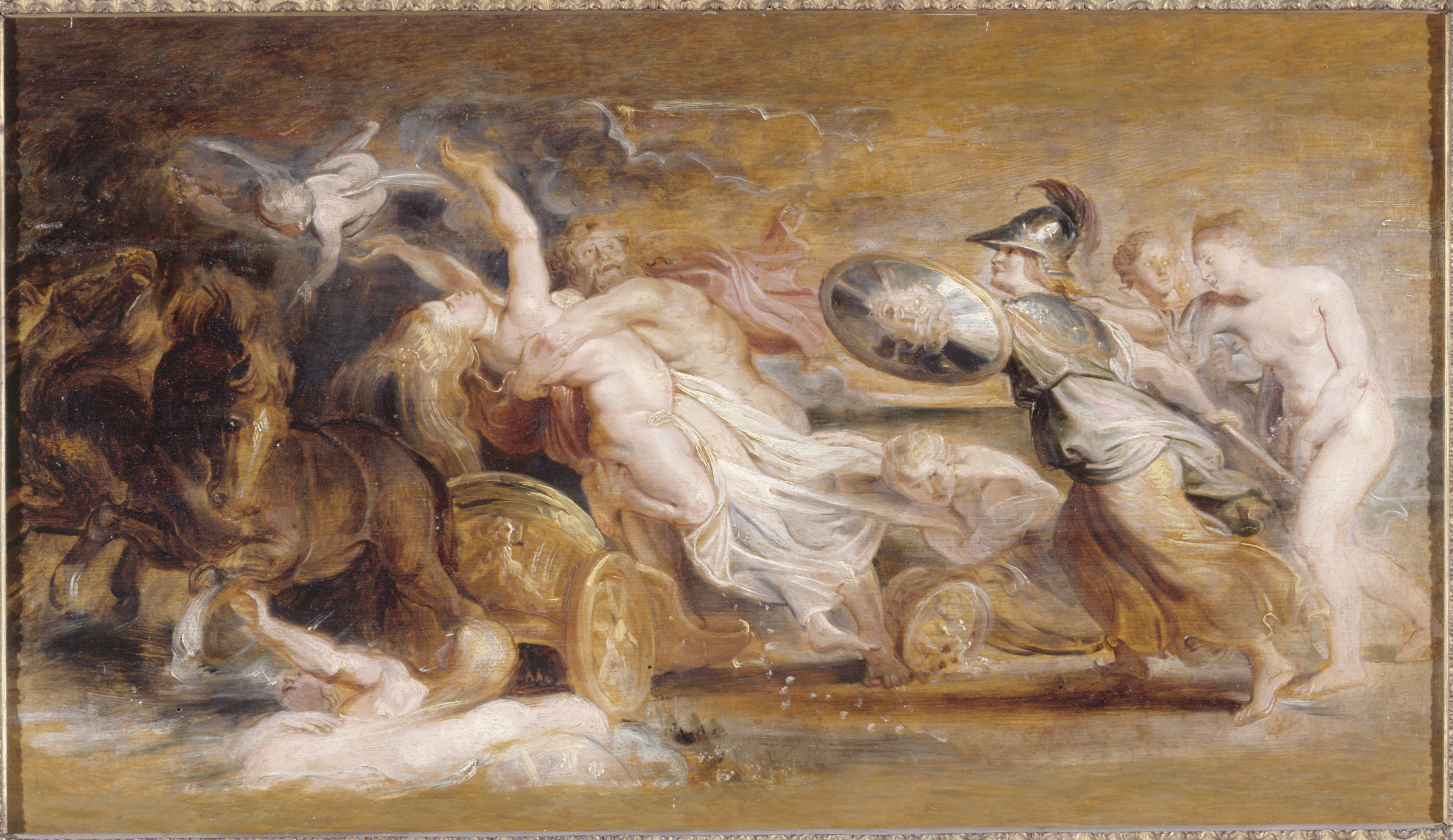 Rubens - The Abduction of Proserpina