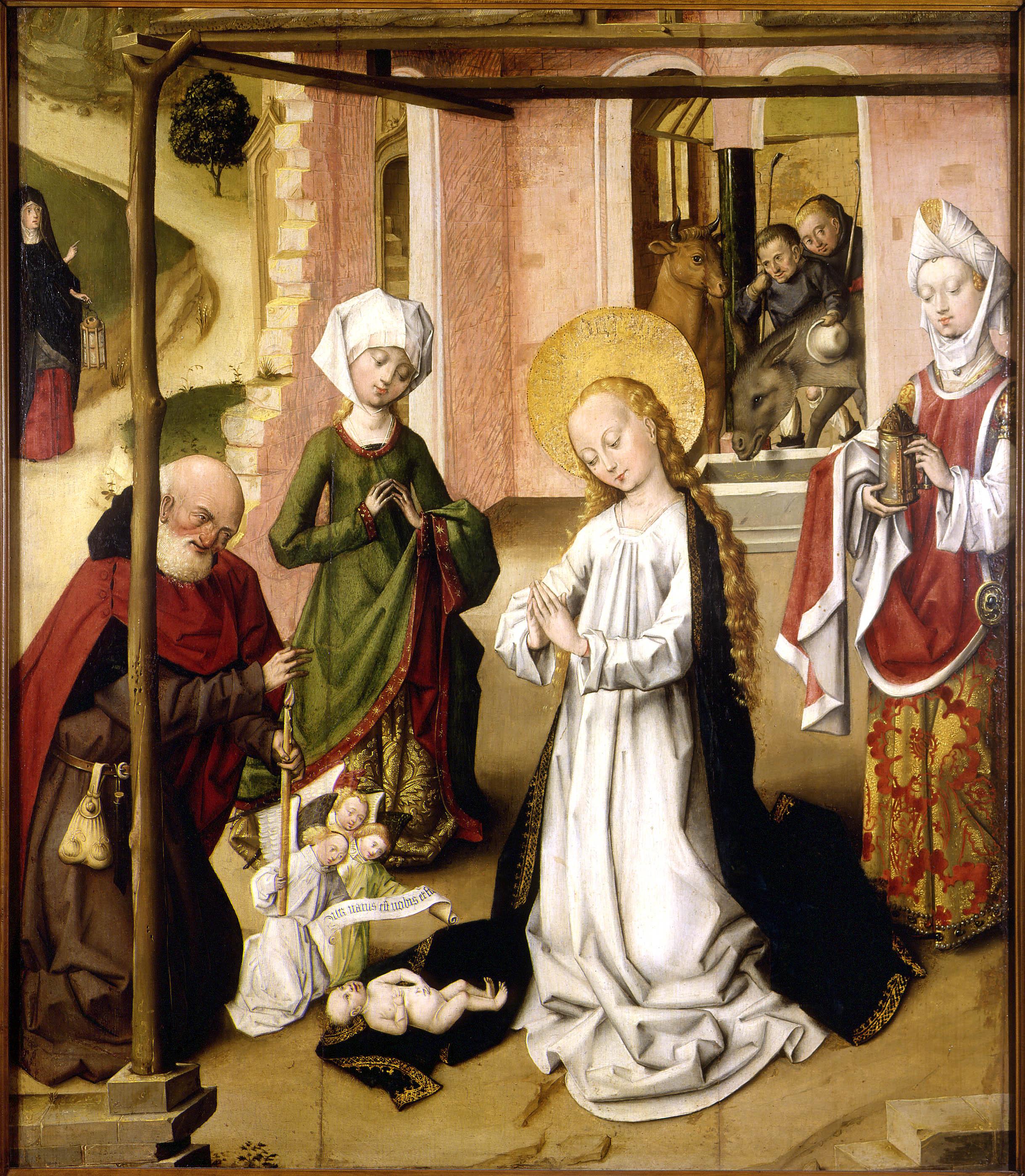 Master of the St. Bartholomew Altarpiece - Adoration of the Child