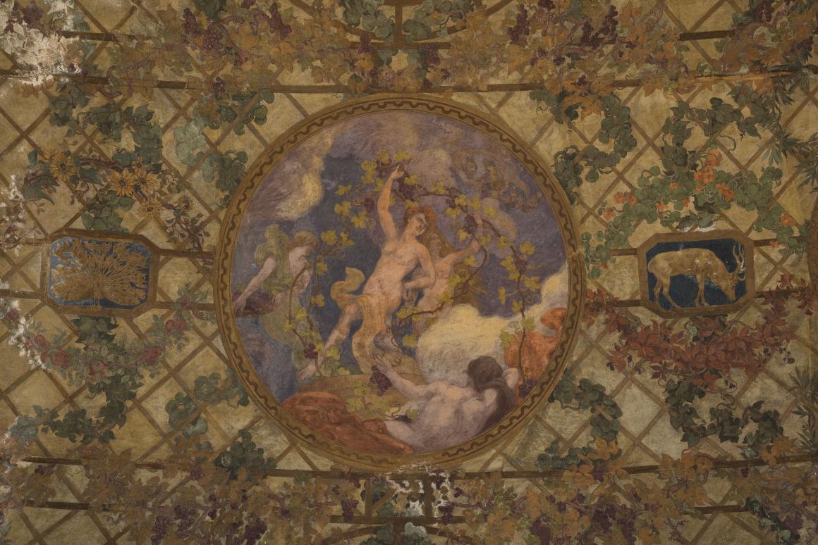 Paul-Albert baudouin, Vendémiaire, décor du péristyle du Petit Palais