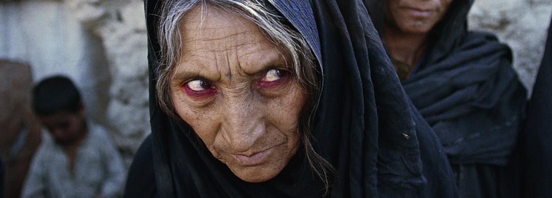 Une réfugiée Afghane à Quetta au Pakistan. Février 2001.