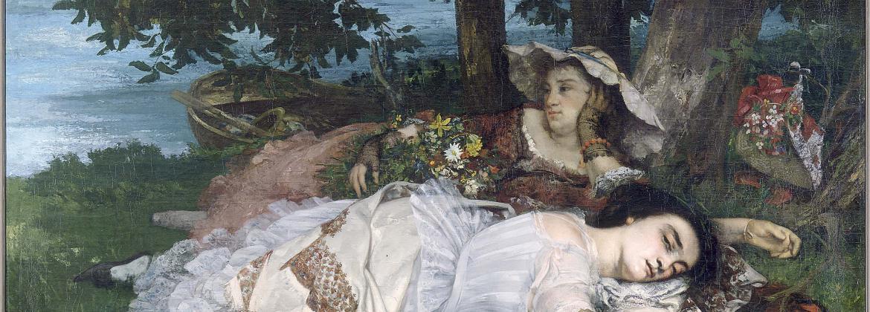 Courbet, Les demoiselles du bord de la Seine, PPP377