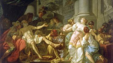 David, La mort de Sénèque, PDUT1154