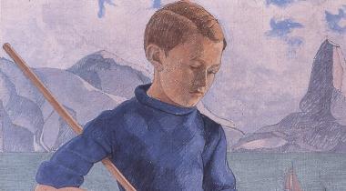 Augustin Rouart, Le Petit Pêcheur, PPP5016, donation Jean-Marie Rouart