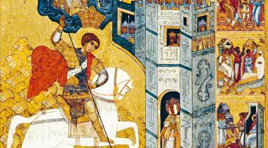 Couverture Icônes. Les arts chrétiens d'Orient au Petit Palais