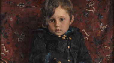 Ilya Répine, Portrait de Youri Répine enfant, 1882