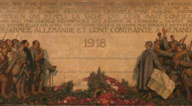 """Georges Paul Leroux, """"1918"""" ou Le Dernier communiqué"""