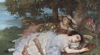 Courbet, Les demoiselles des bords de la Seine
